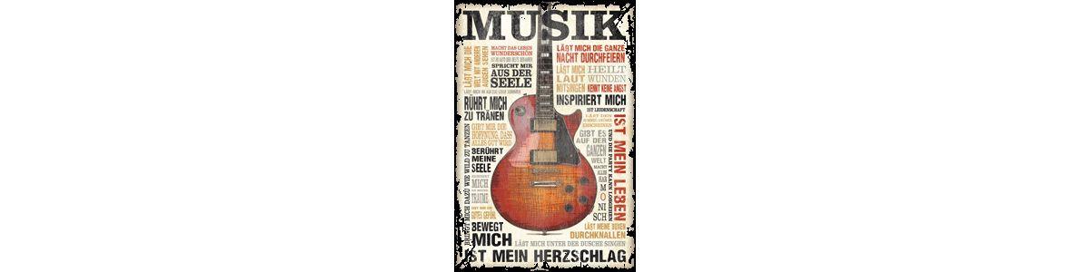Home affaire Bild »Musik ist Leidenschaft«, 60/...