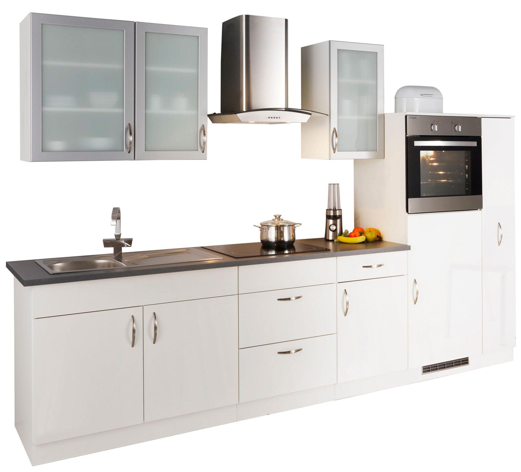 k chenzeile mit elektroger ten peru breite 270 cm. Black Bedroom Furniture Sets. Home Design Ideas