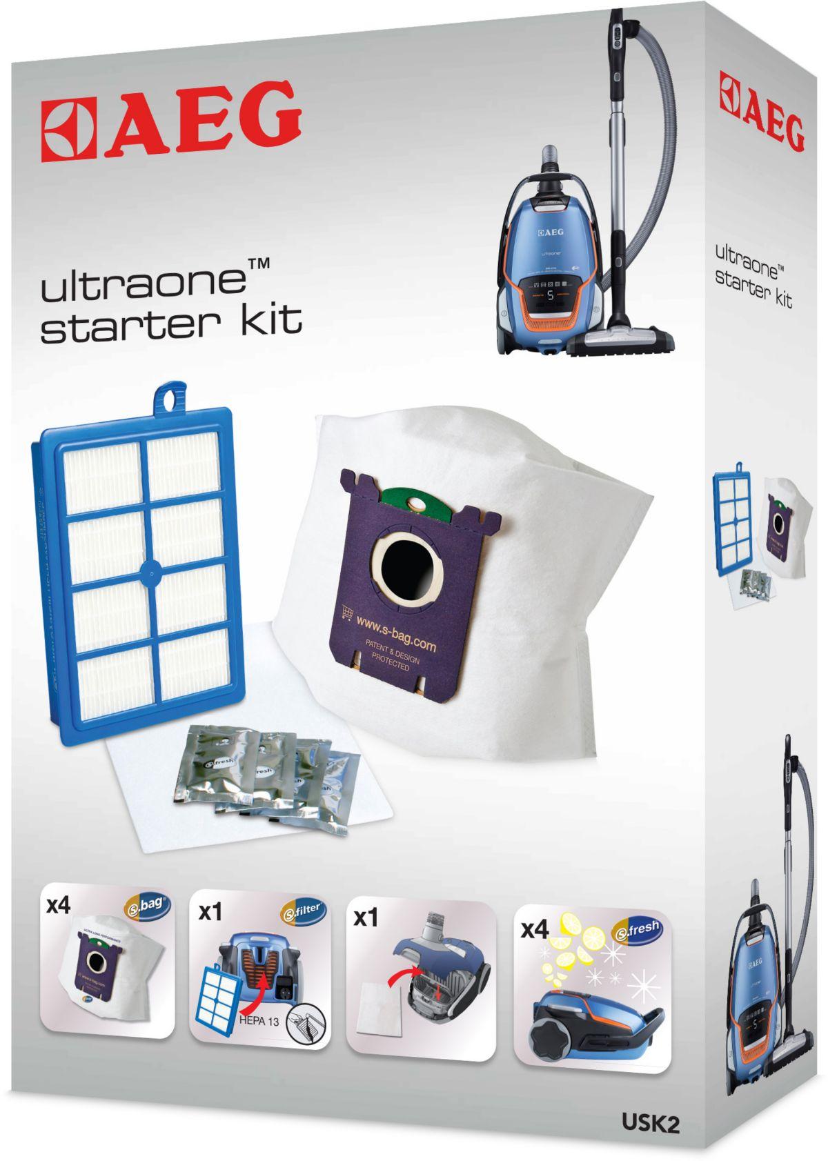 AEG Vorteil-Set UltraOne Starter-Kit USK 2, Fil...