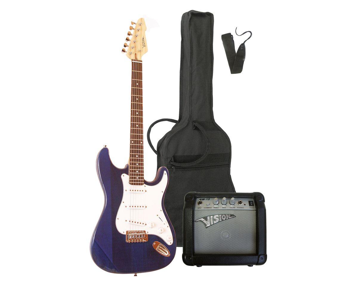 elektrisches gitarrenset fr rechts und linkshnder  e gitarren set ready