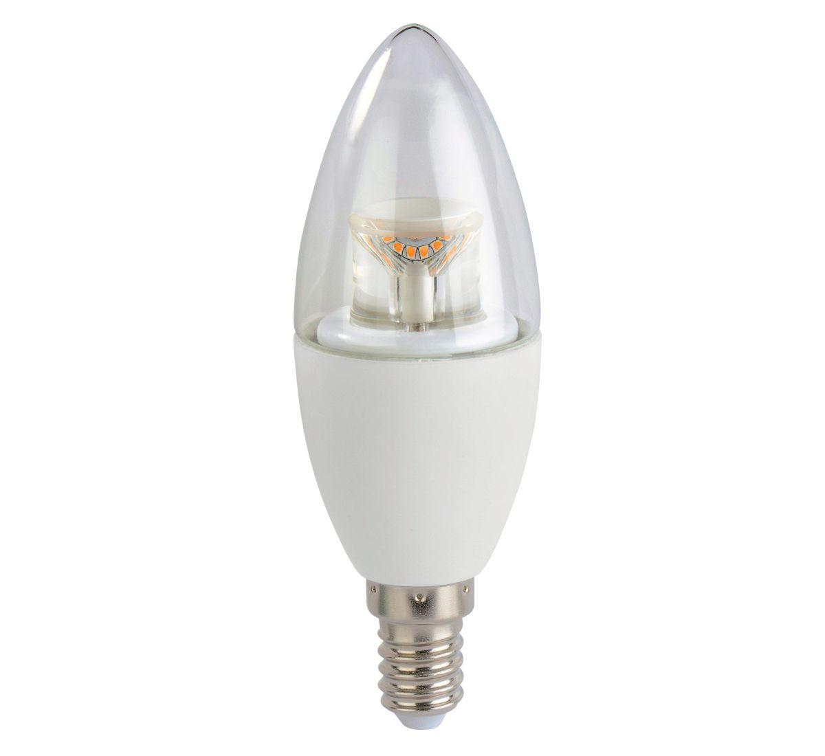 Xavax Dimmbare LED-Lampe, E14, 470lm ersetzt 40...