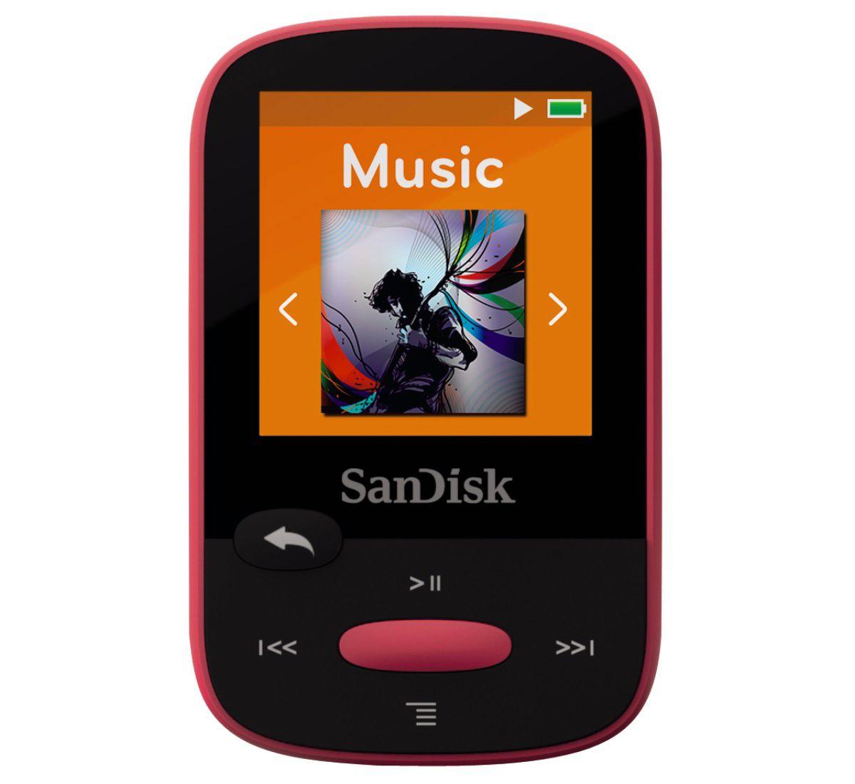 SanDisk MP3 Player Clip Sport 8GB mit Slot für ...