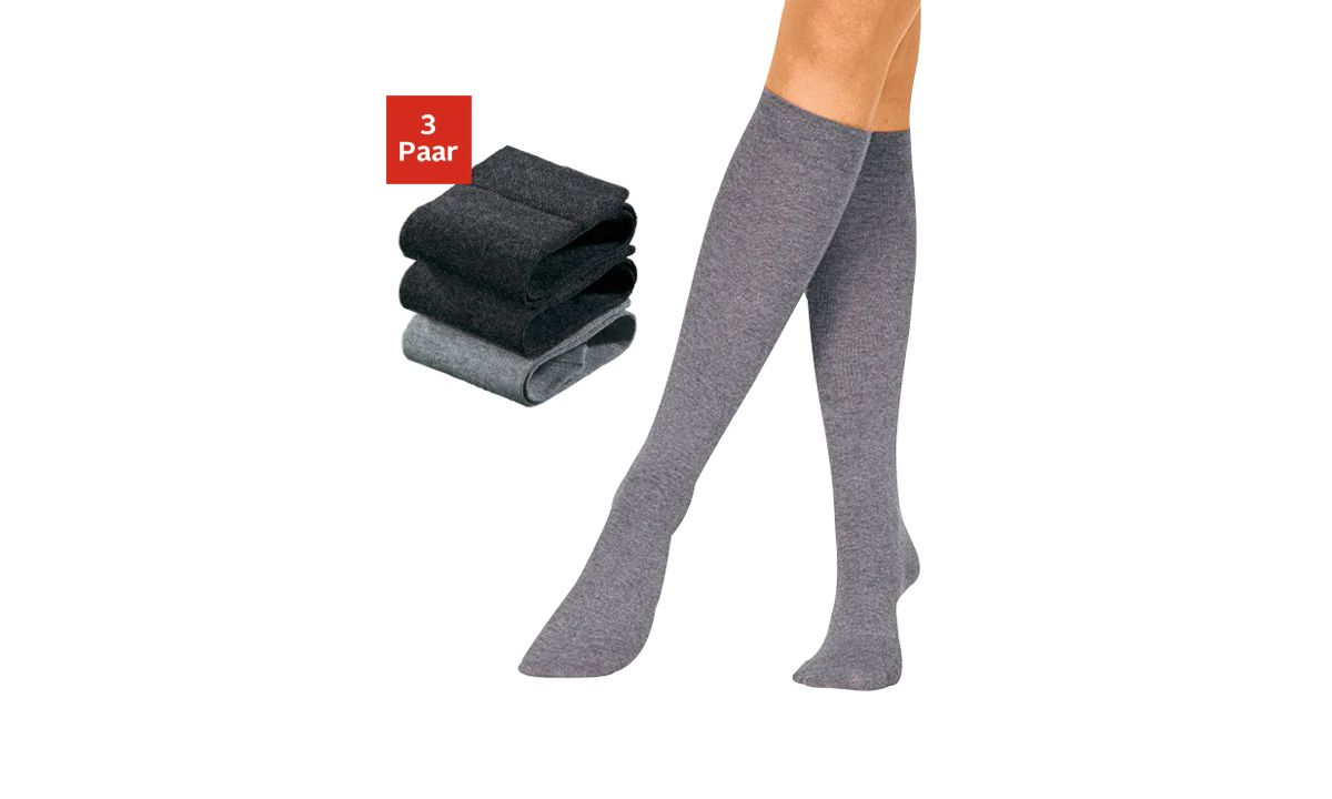 produktdetails f r gro e gr en rogo kniestr mpfe 3 paar. Black Bedroom Furniture Sets. Home Design Ideas