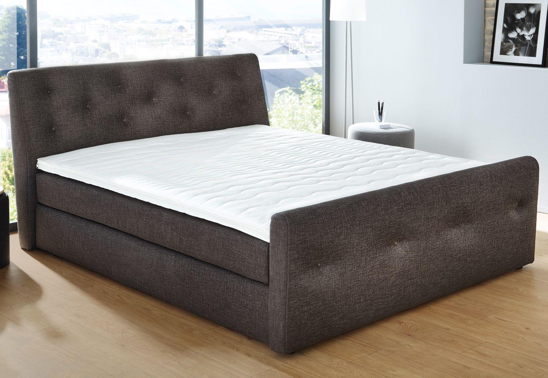 boxspring bett home affaire bellevue schwab versand box springbetten. Black Bedroom Furniture Sets. Home Design Ideas