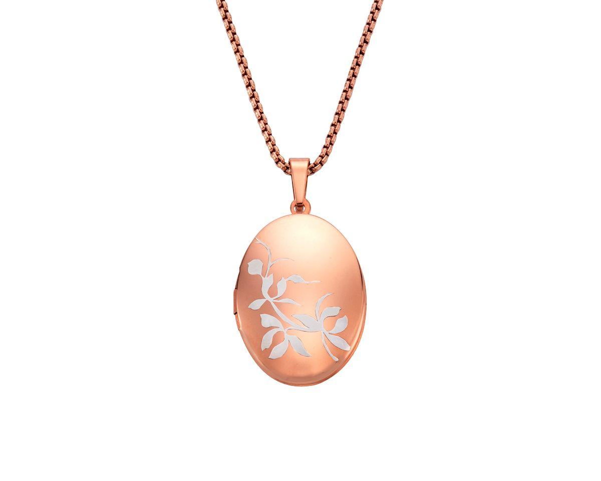 firetti Halsschmuck: Halskette »Medaillon« in A...