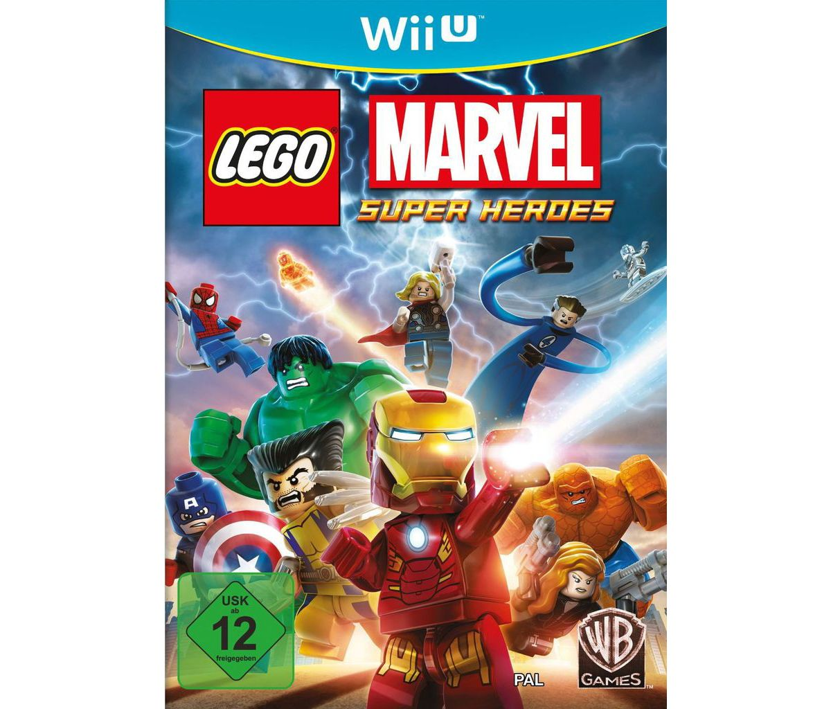 Warner Games Wii U - Spiel »LEGO Marvel«