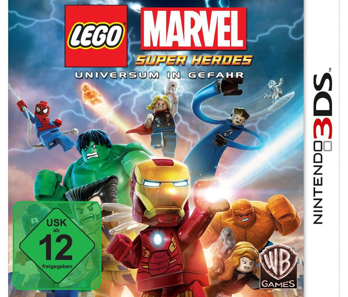 Warner Games Nintendo 3DS - Spiel »LEGO Marvel«