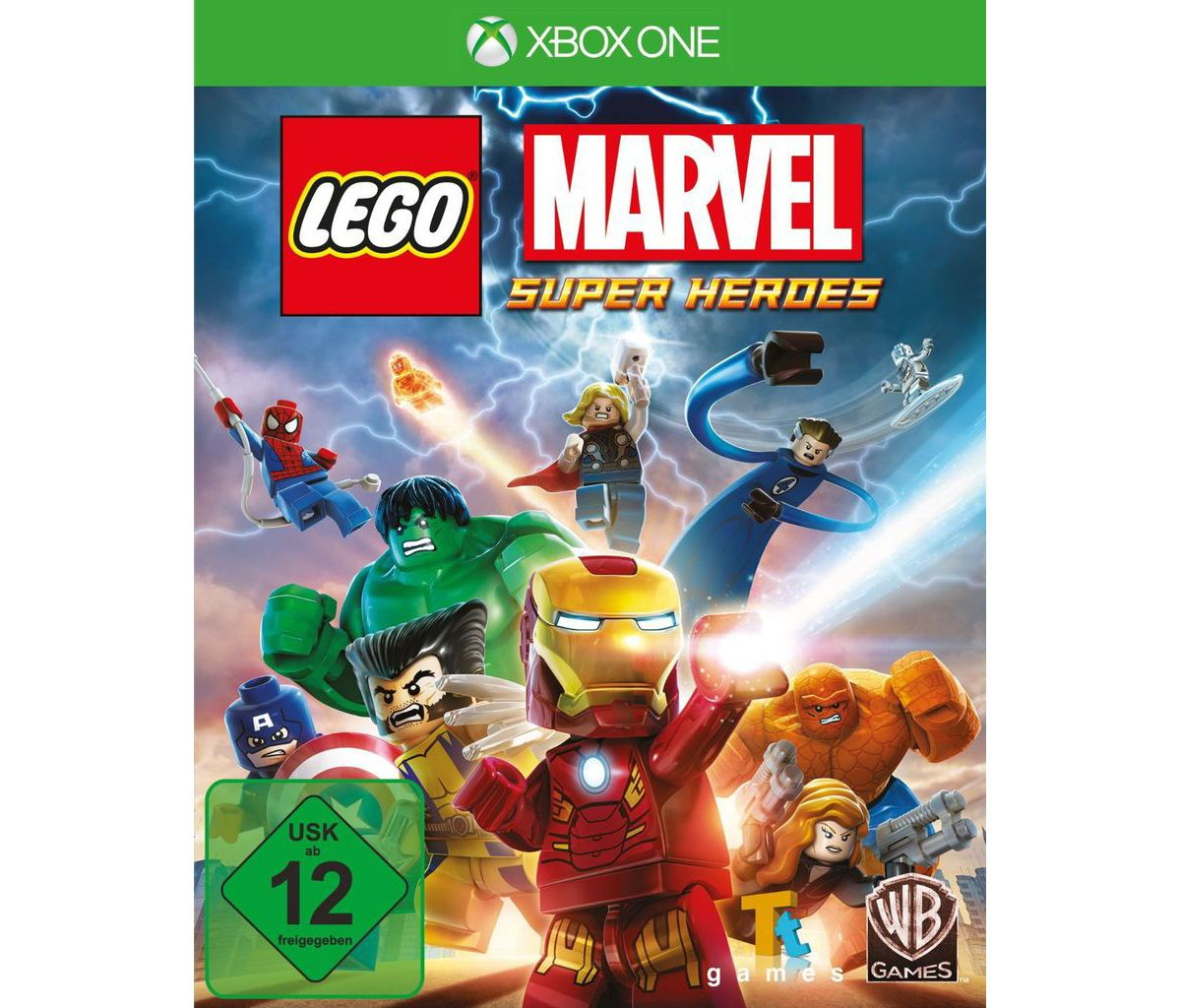 Warner Games XBOX One - Spiel »LEGO Marvel«