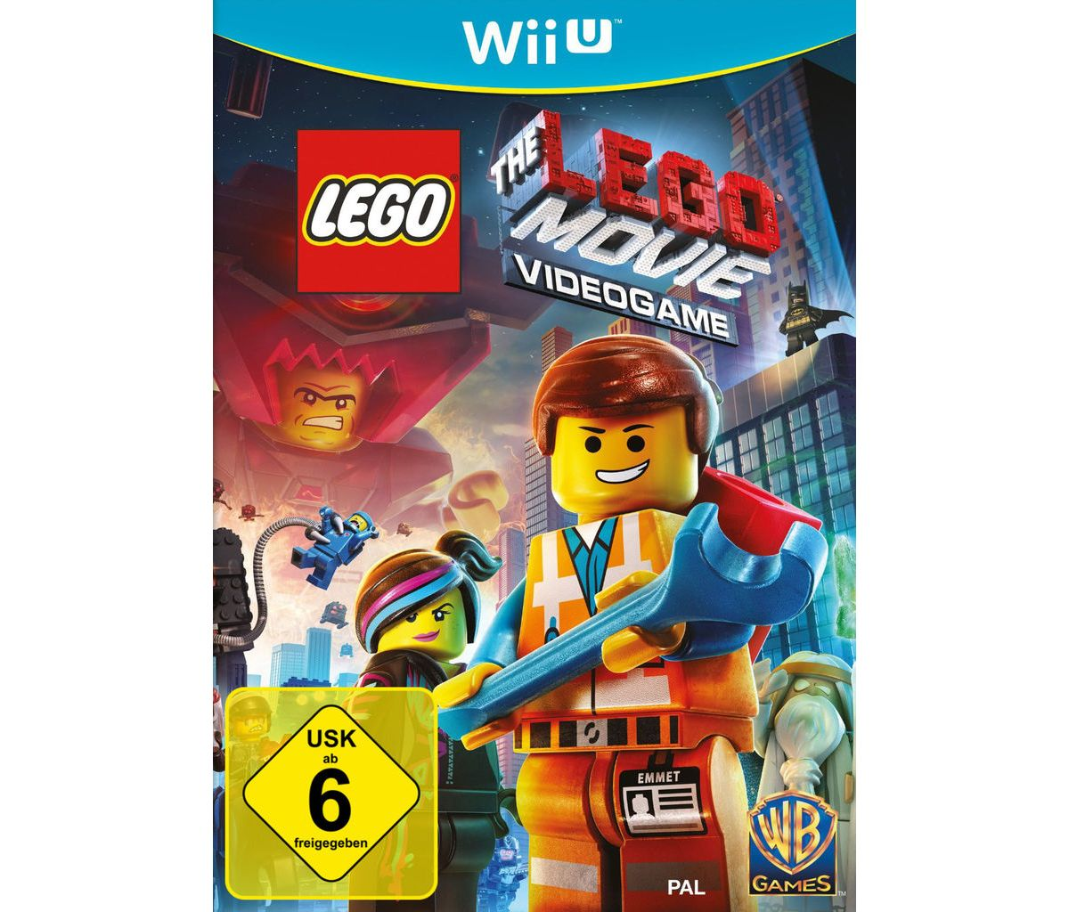 Warner Games Wii U - Spiel »LEGO The Movie Vide...