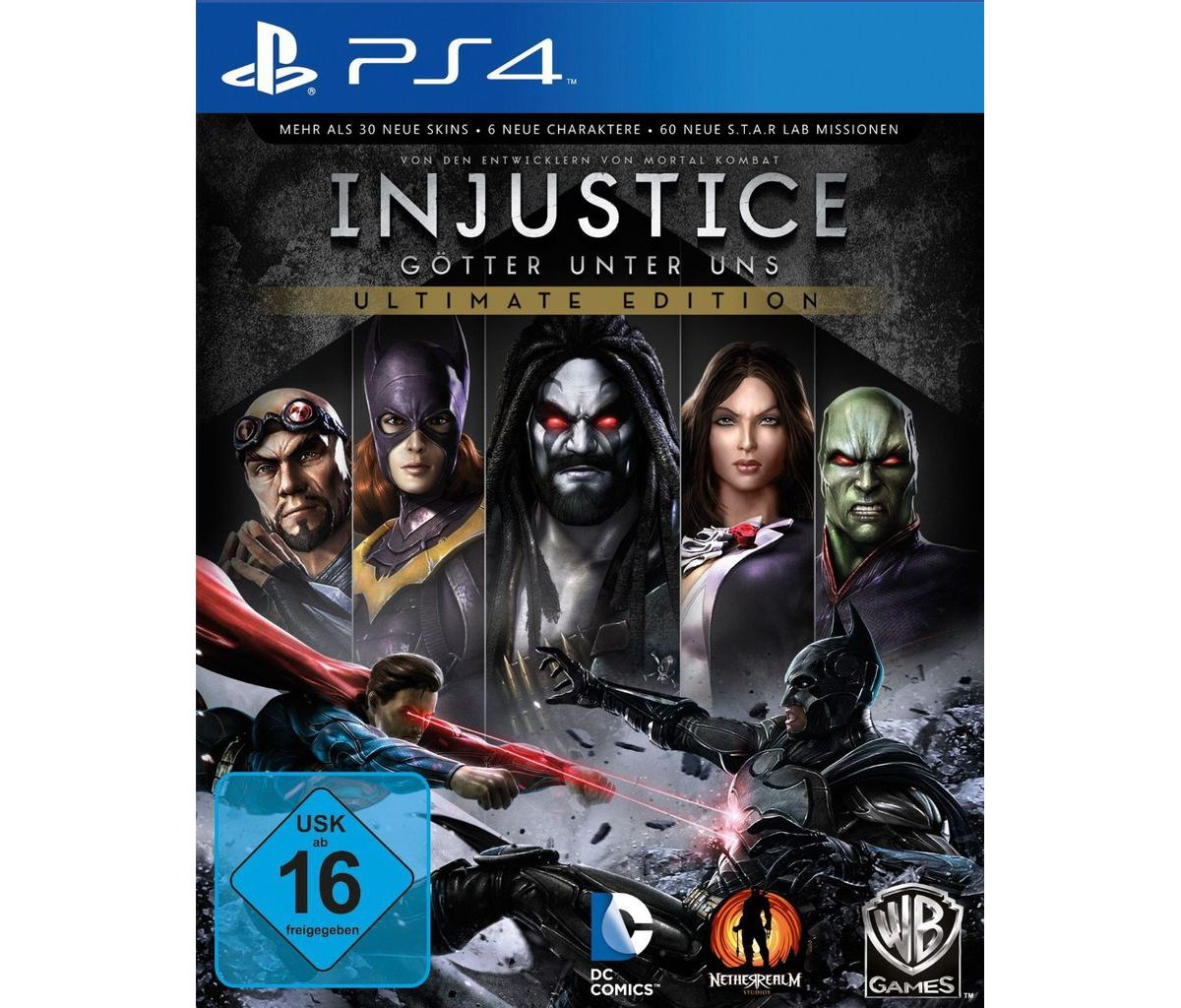 Warner Games Playstation 4 - Spiel »Injustice -...