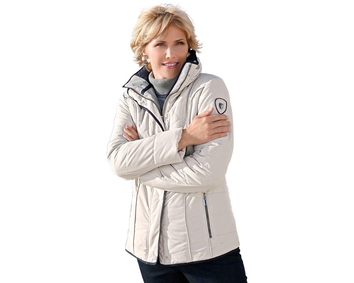 Wega Fashion Jacke aus pflegeleichter Microfaser