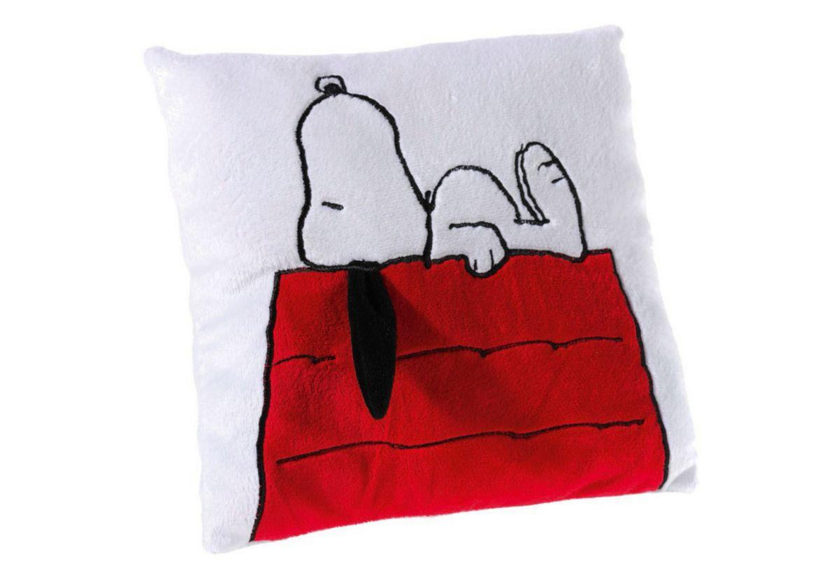 Tigerente Schaukelpferd Holz ~ Heunec Kissen »Peanuts Snoopy« Aus Softwool Material 100%