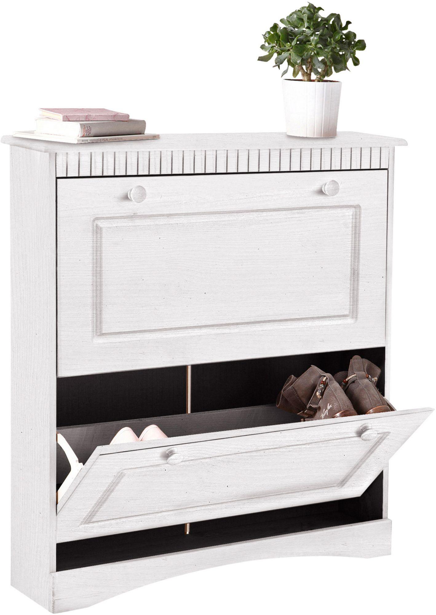 schuhschrank home affaire rustic schwab versand b nke truhen. Black Bedroom Furniture Sets. Home Design Ideas