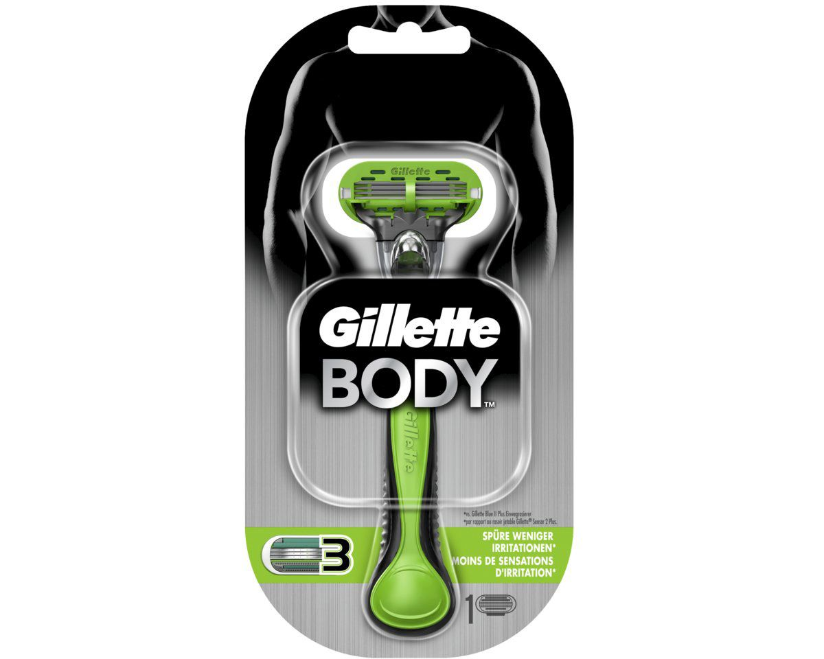Gillette, »Body«, Rasierer