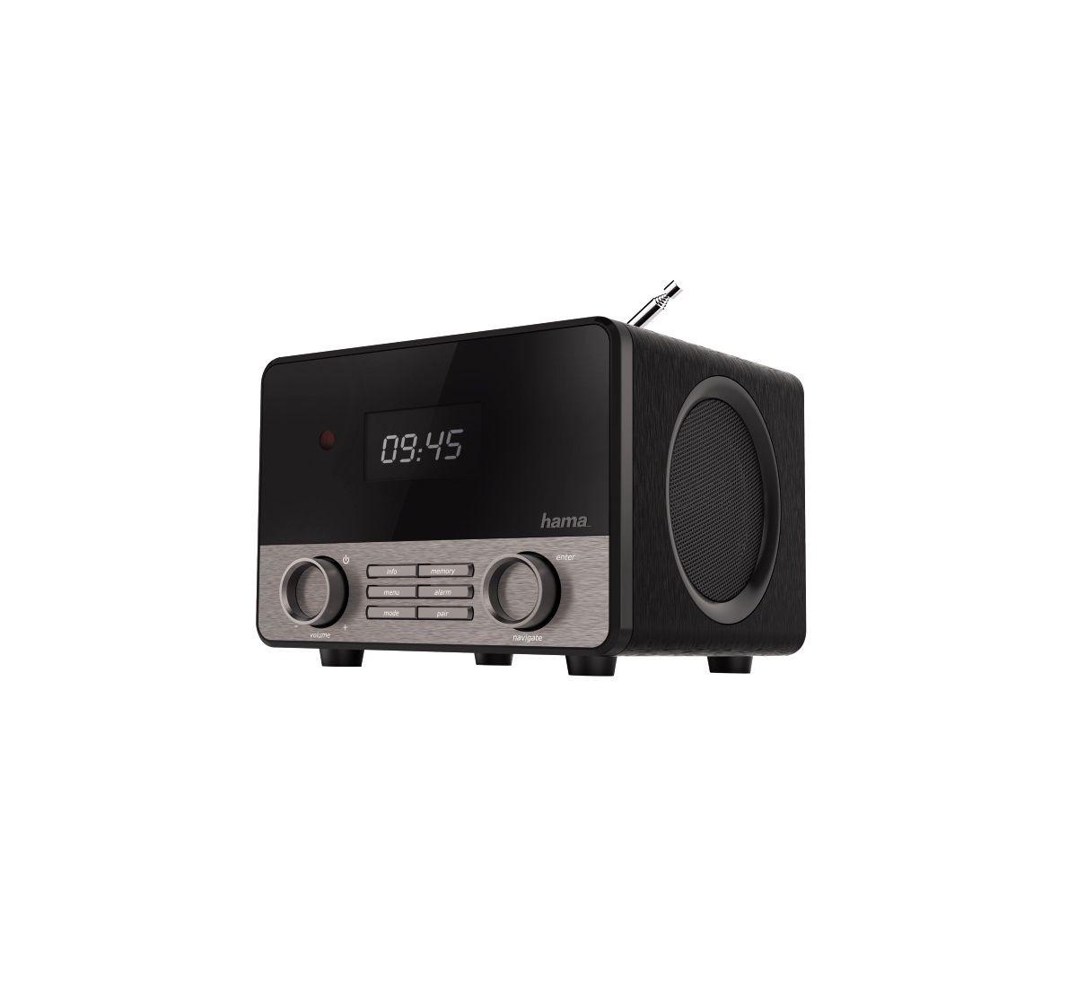 Hama Digitalradio DR1600 Radiowecker Bluetooth ...