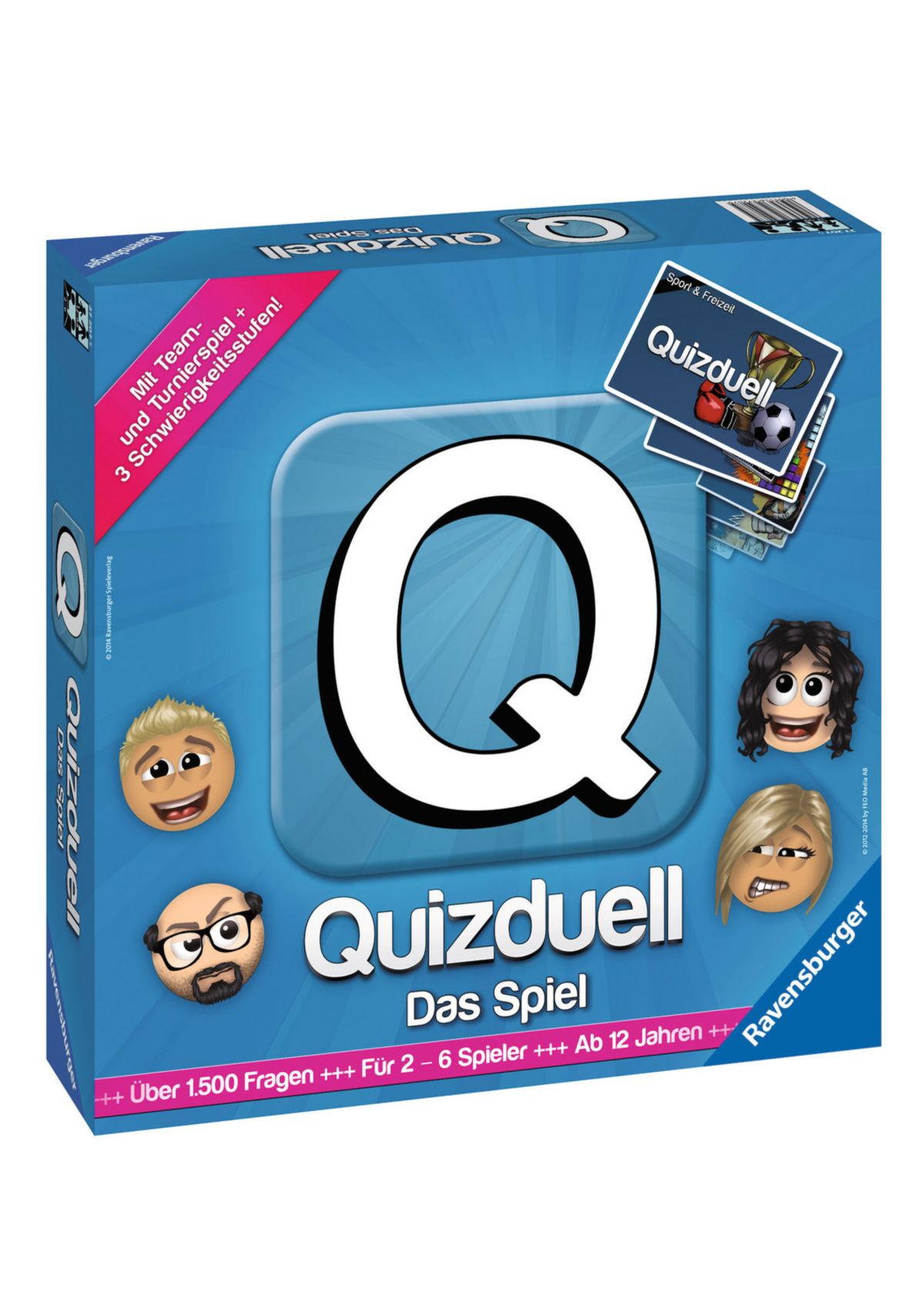 Ravensburger Brettspiel, »Quizduell - Das Spiel«