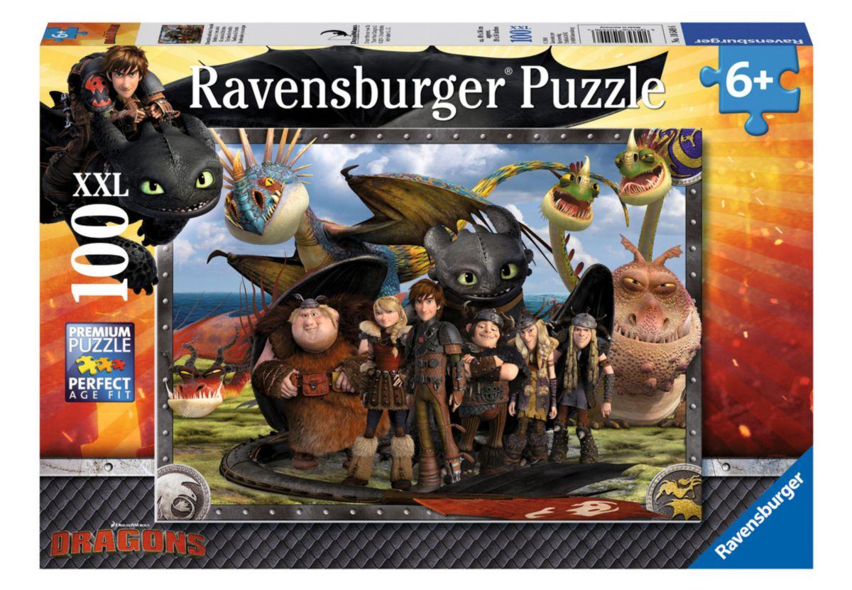 Ravensburger Puzzle 100 Teile, »Ohnezahn und se...