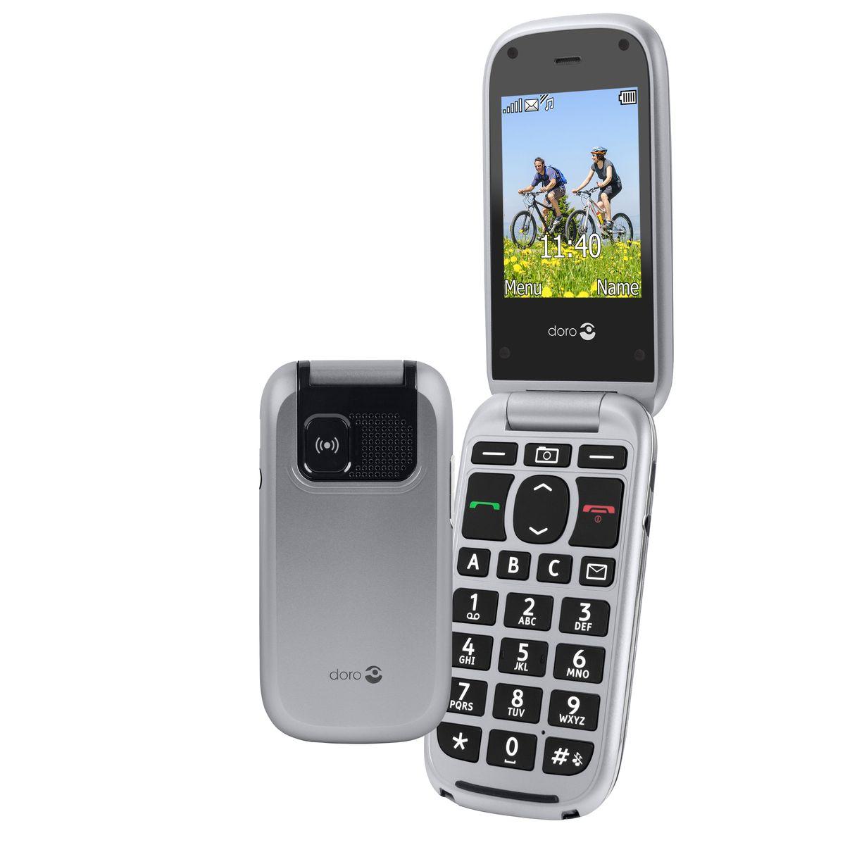 Doro Handy »PhoneEasy 613, Silber«
