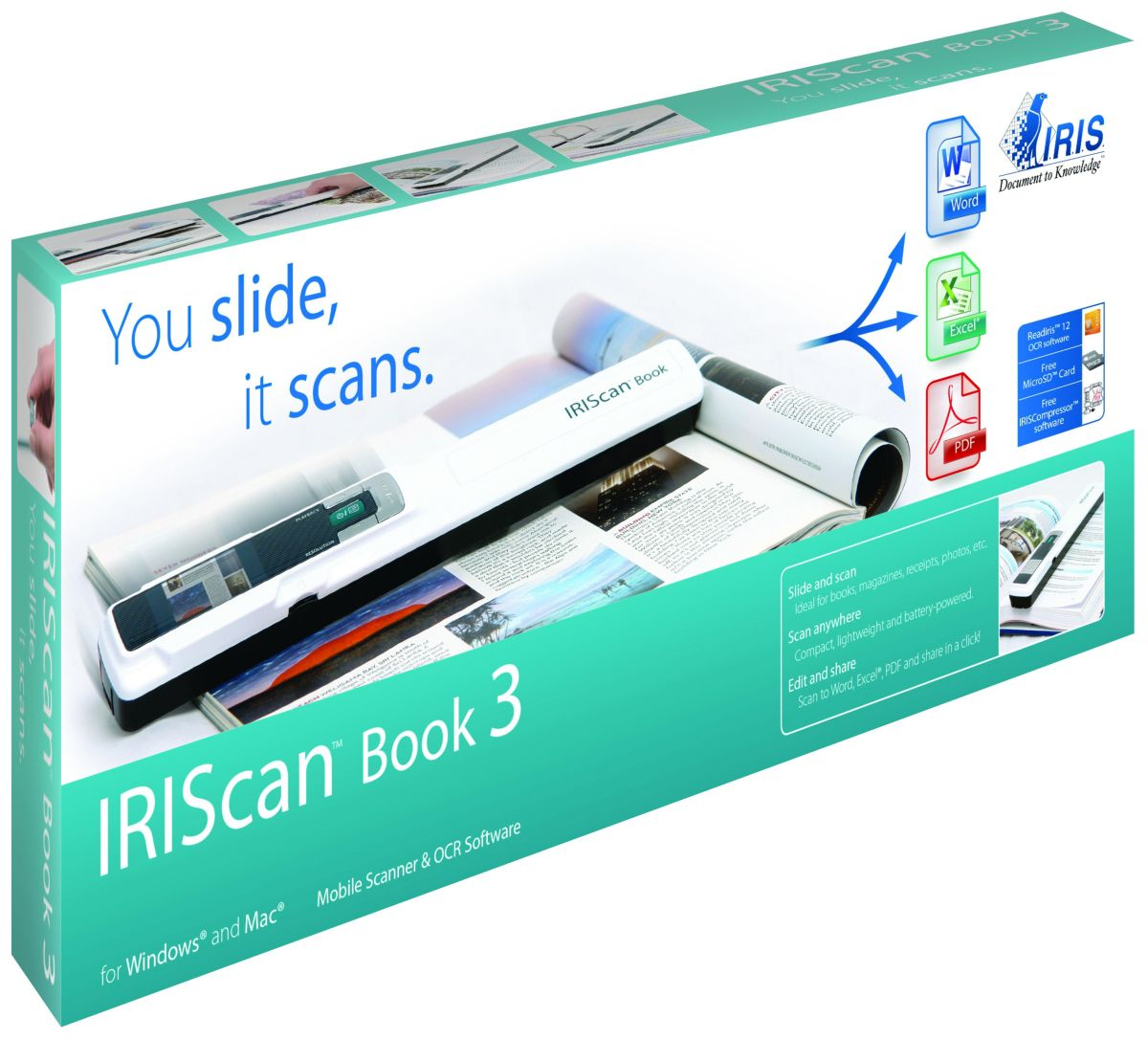 IRIS Mobiler Scanner »IRIScan Book 3 (457888)«