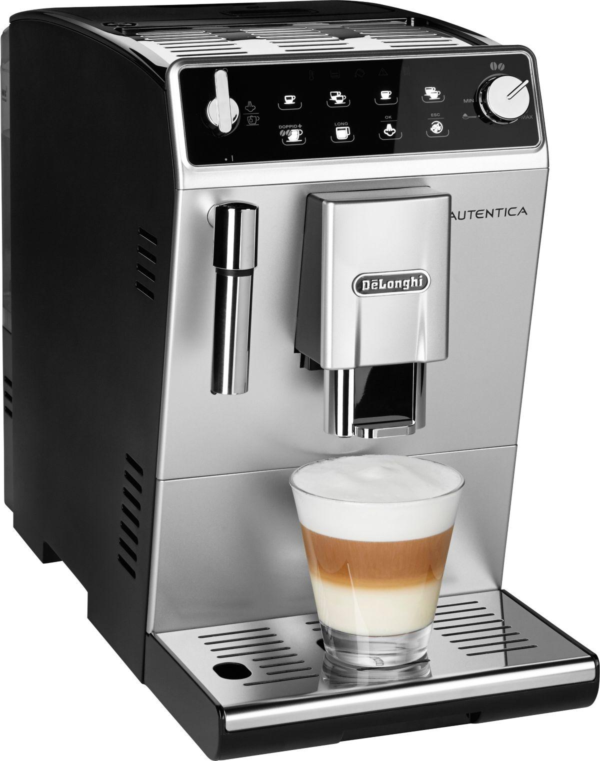 delonghi ecam 28 466 mb primadonna s kaffeevollautomat edelstahl schwarz. Black Bedroom Furniture Sets. Home Design Ideas