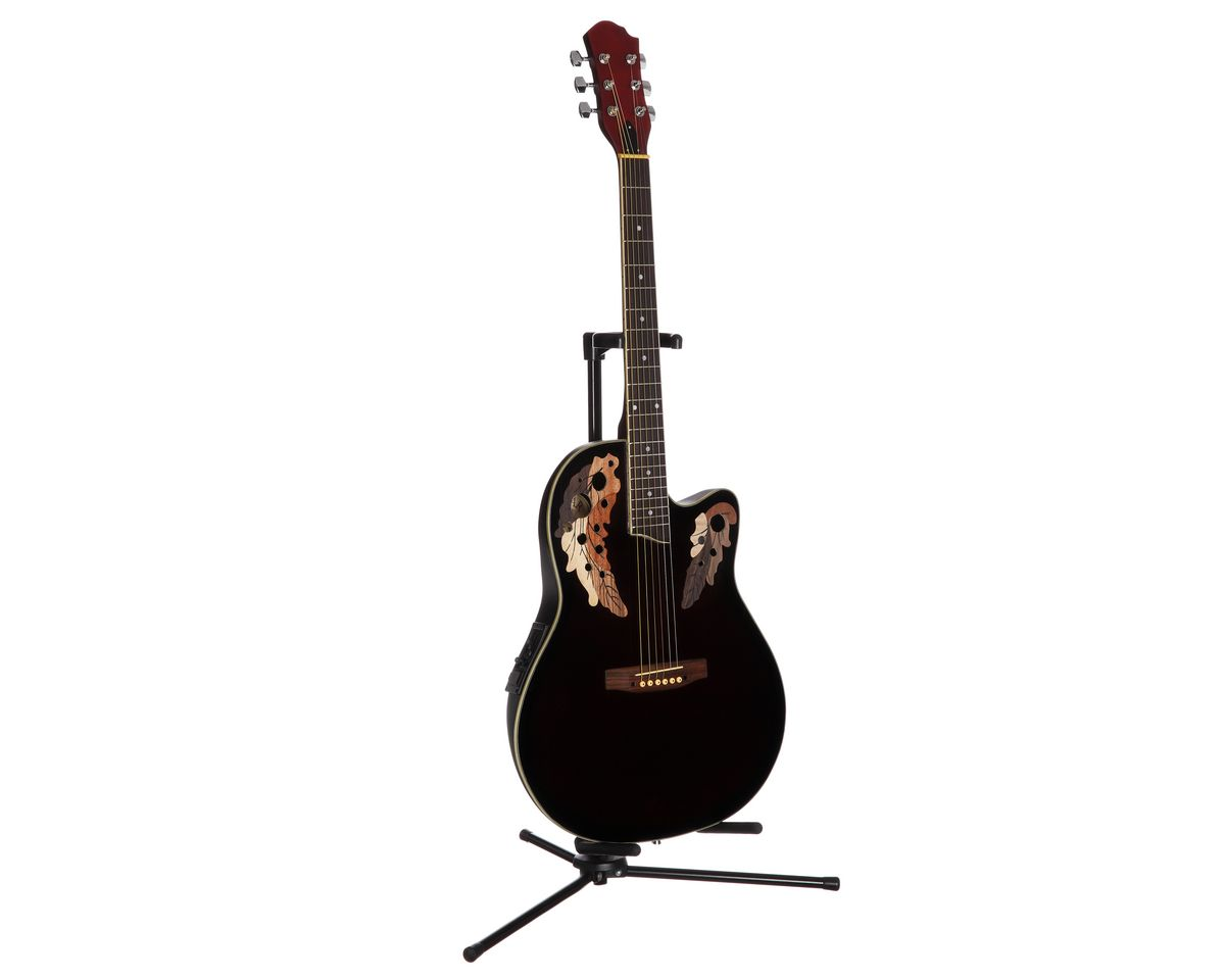 Akustikgitarre, »Roundbackgitarre 4/4 mit Equal...