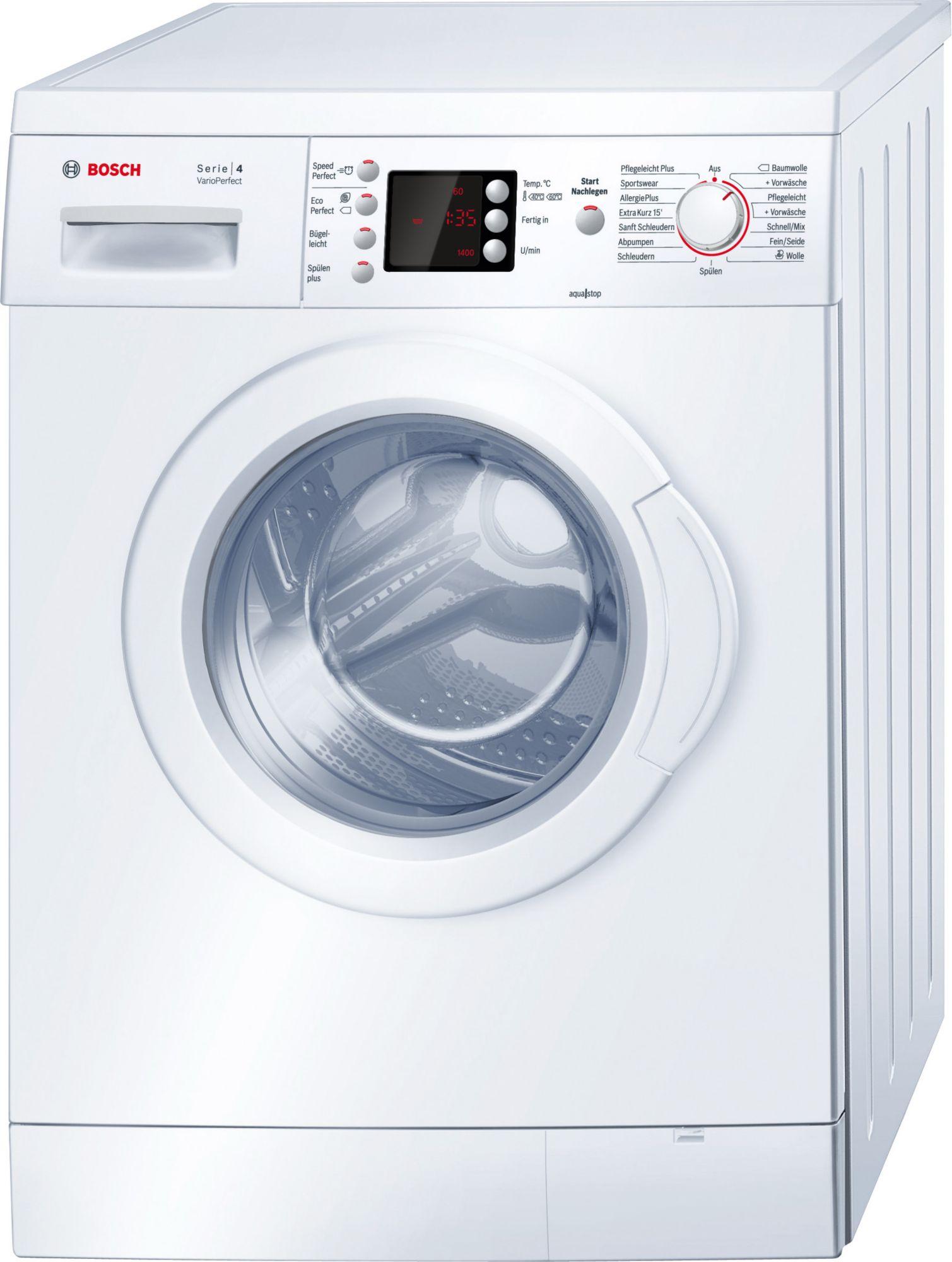 bosch waschmaschine wae28446 a 7 kg 1400 u min. Black Bedroom Furniture Sets. Home Design Ideas