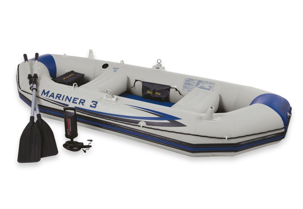 Sportboot-Set, »Boot-Set Mariner 3«, Intex