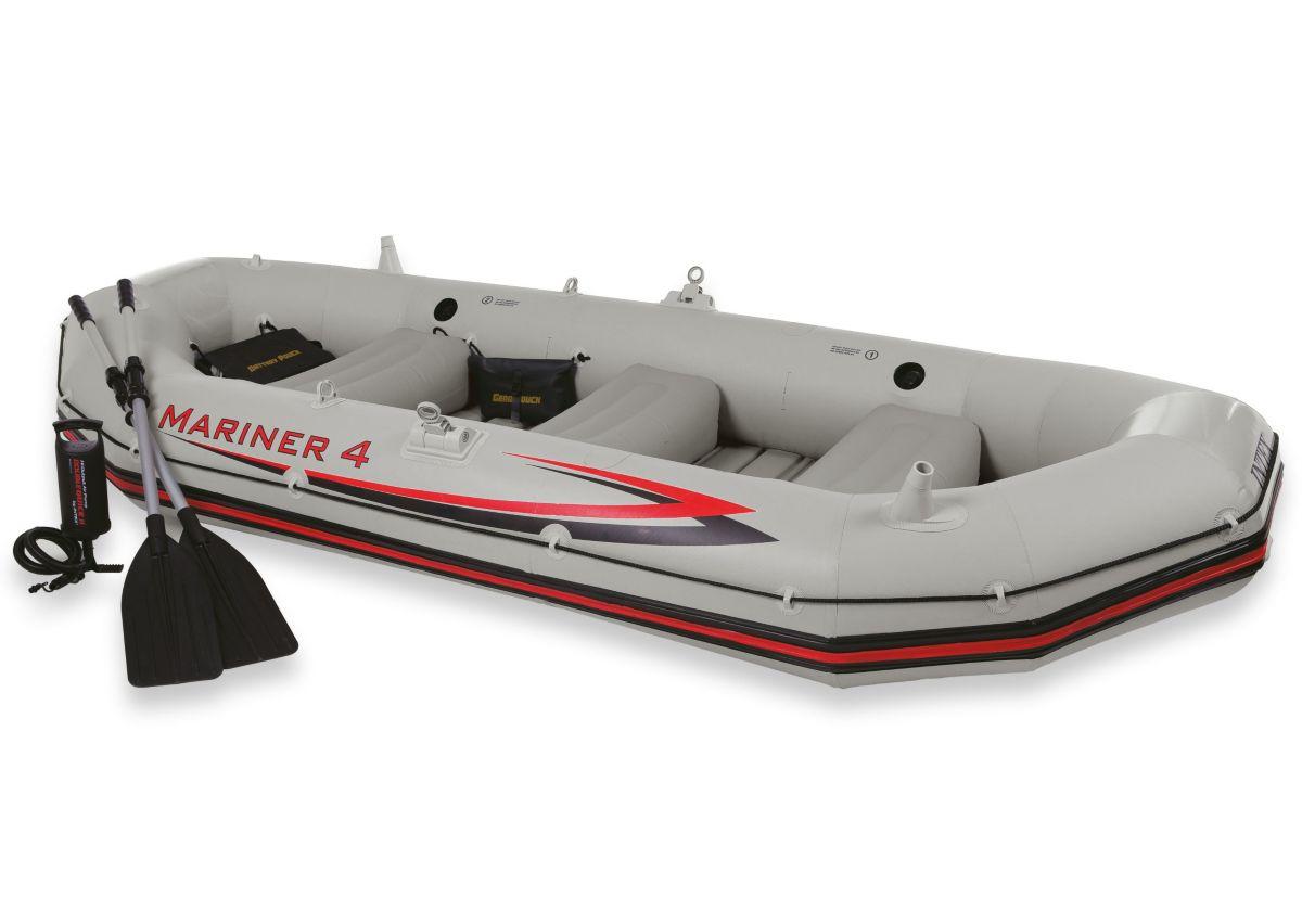 Sportboot-Set, »Boot-Set Mariner 4«, Intex