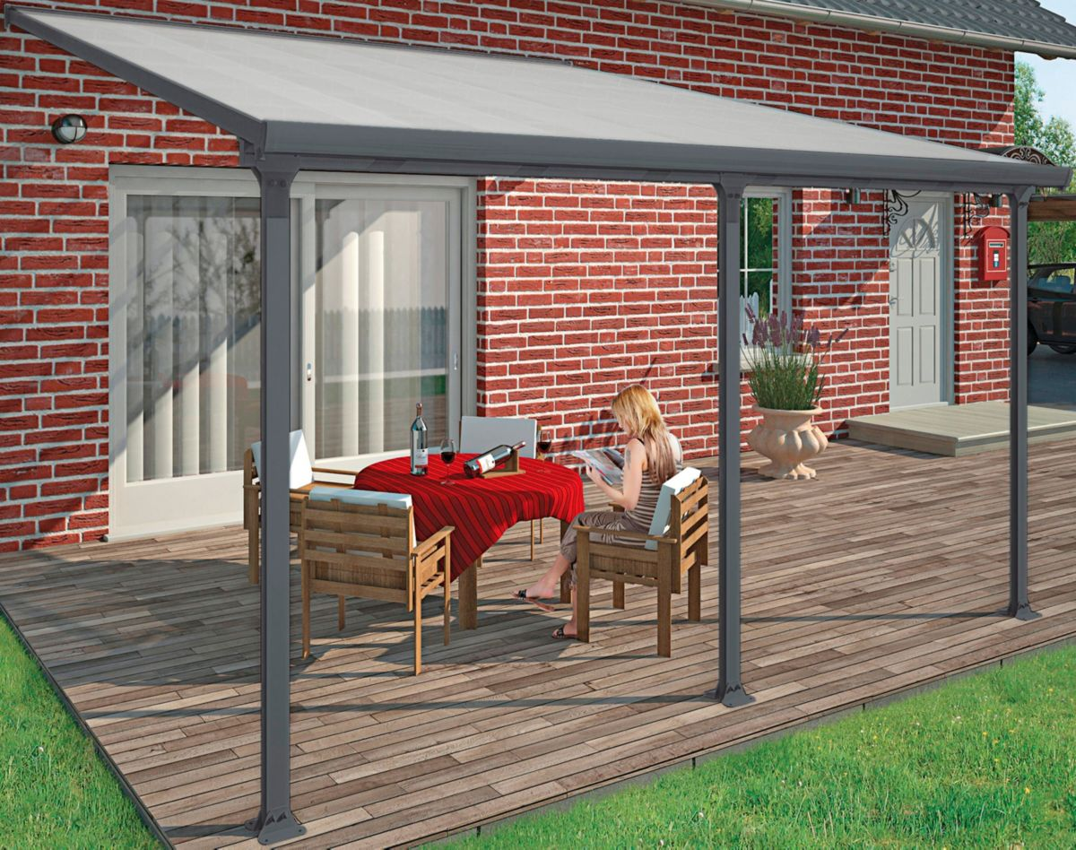 PALRAM Terrassendach , BxT: 610x295 cm