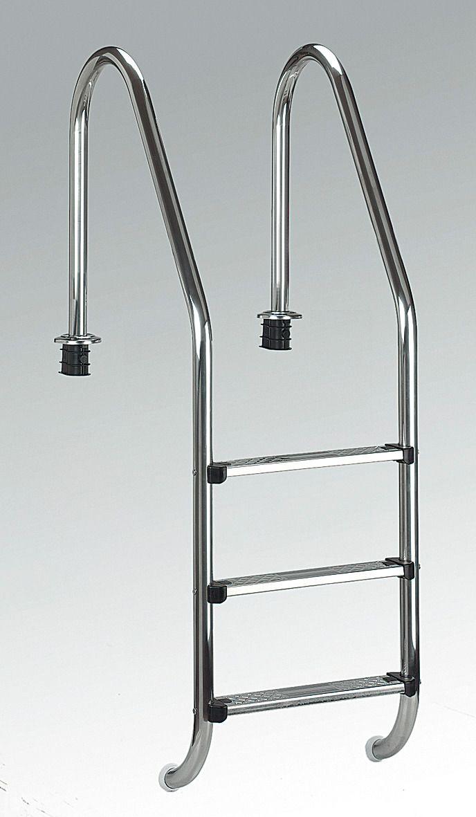 pool einh ngeleiter tiefbeckenleiter edelstahl schwab versand poolleitern. Black Bedroom Furniture Sets. Home Design Ideas