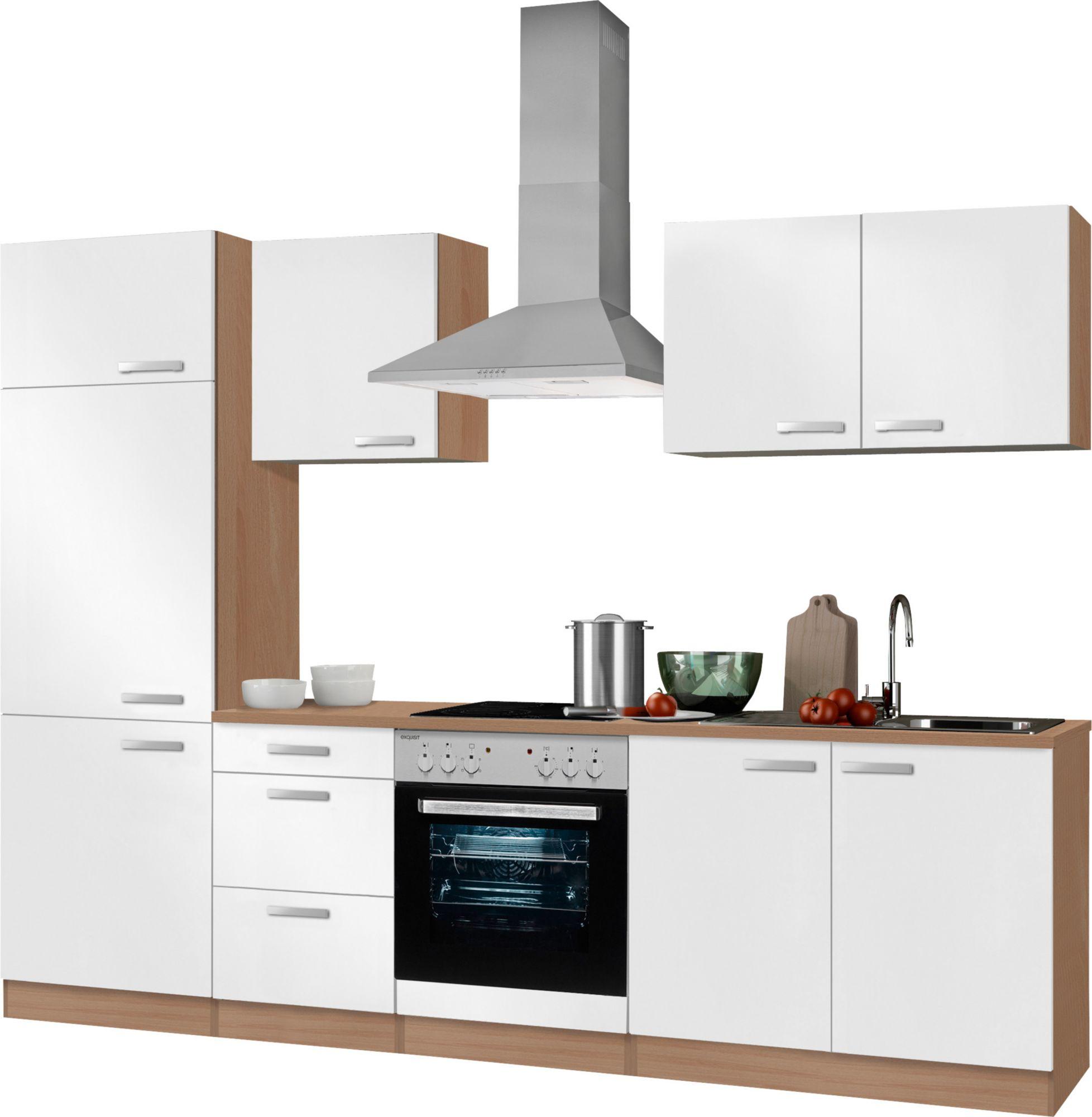 k chenzeile ohne e ger te optifit odense breite 270 cm schwab versand k chenunterschr. Black Bedroom Furniture Sets. Home Design Ideas
