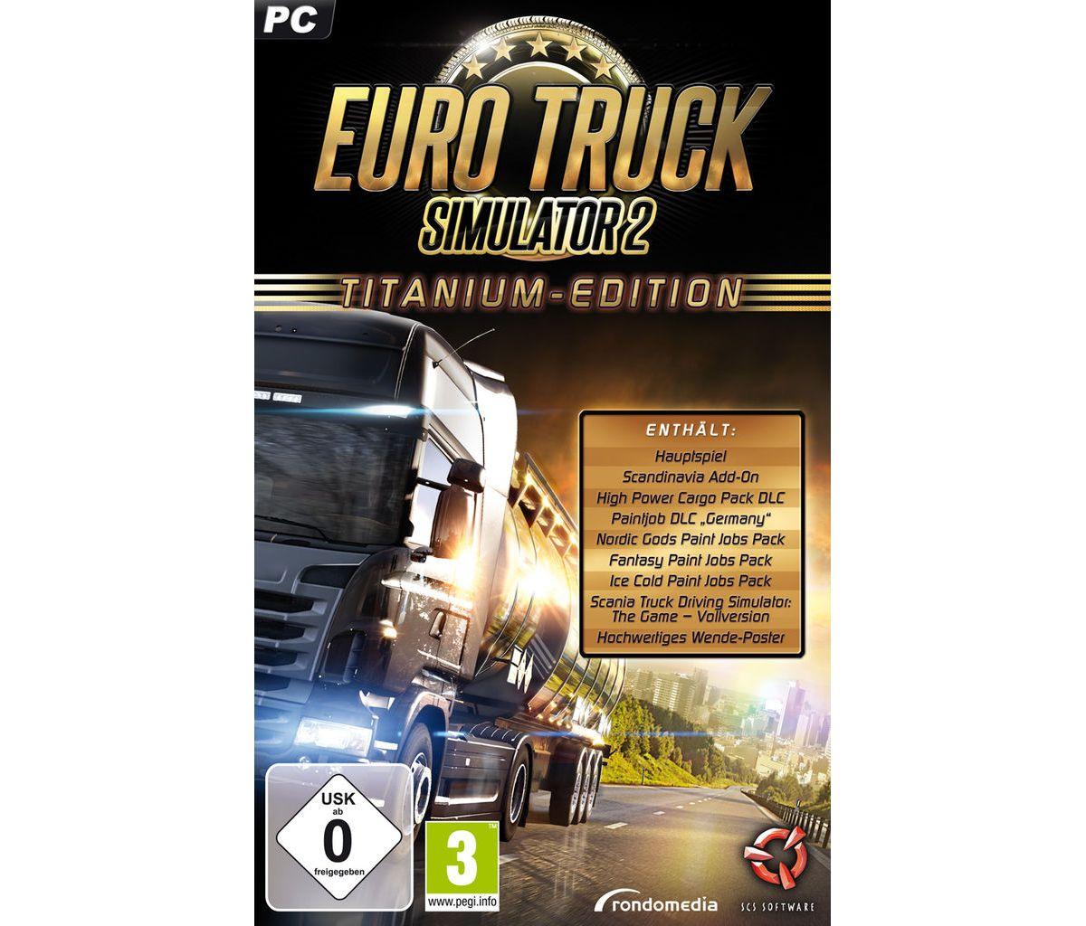 rondomedia PC - Spiel »Euro Truck Simulator 2: ...