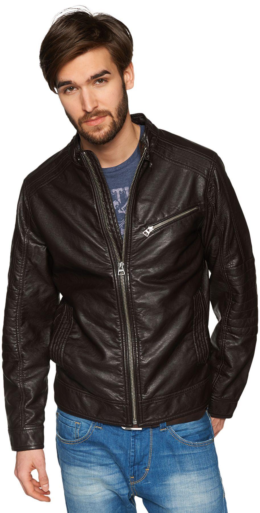 tom tailor lederjacke fake leather jacket schwab versand kunstlederjacken. Black Bedroom Furniture Sets. Home Design Ideas