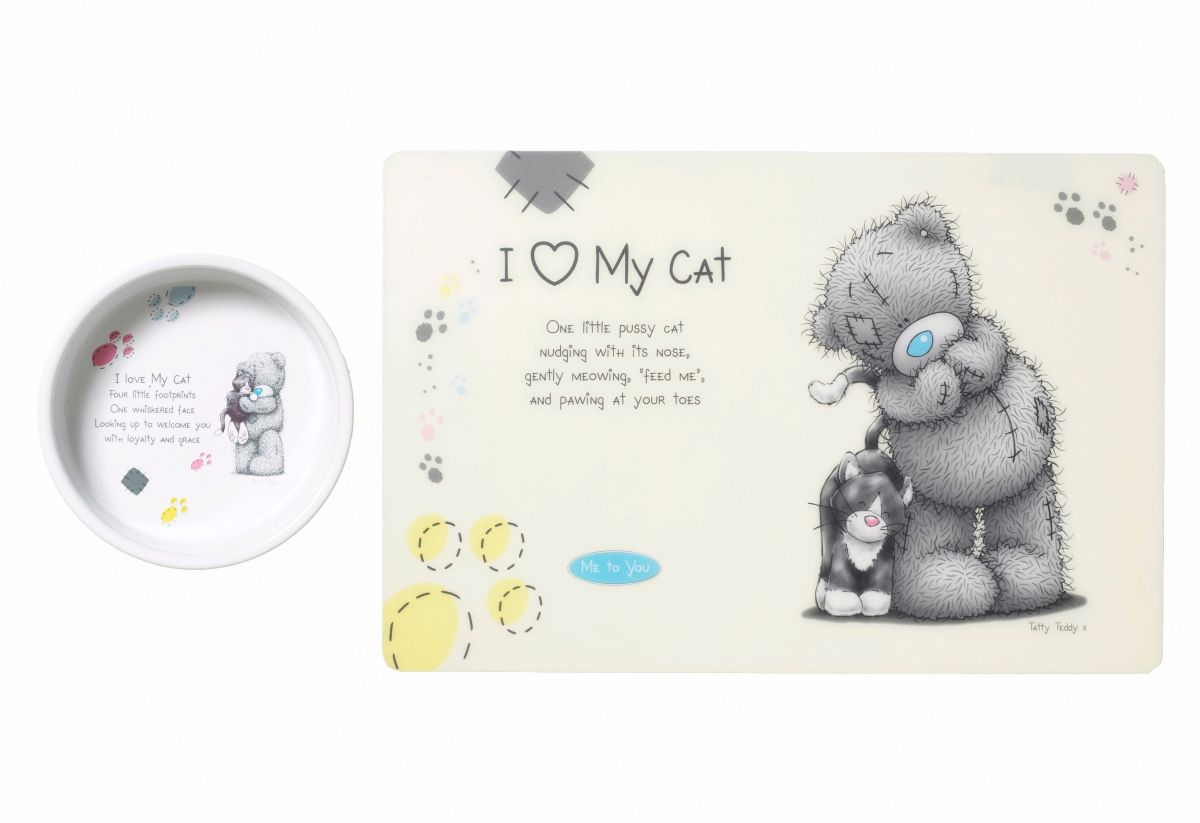 Heim Katzen-Napf-Set »Me to You Cat 1«