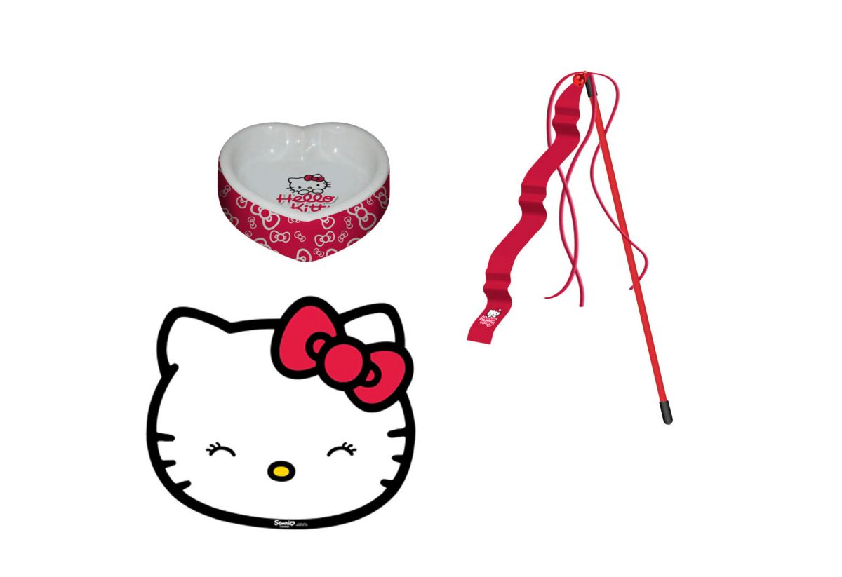 Heim Katzen-Napf-Set »Hello Kitty Napfset«