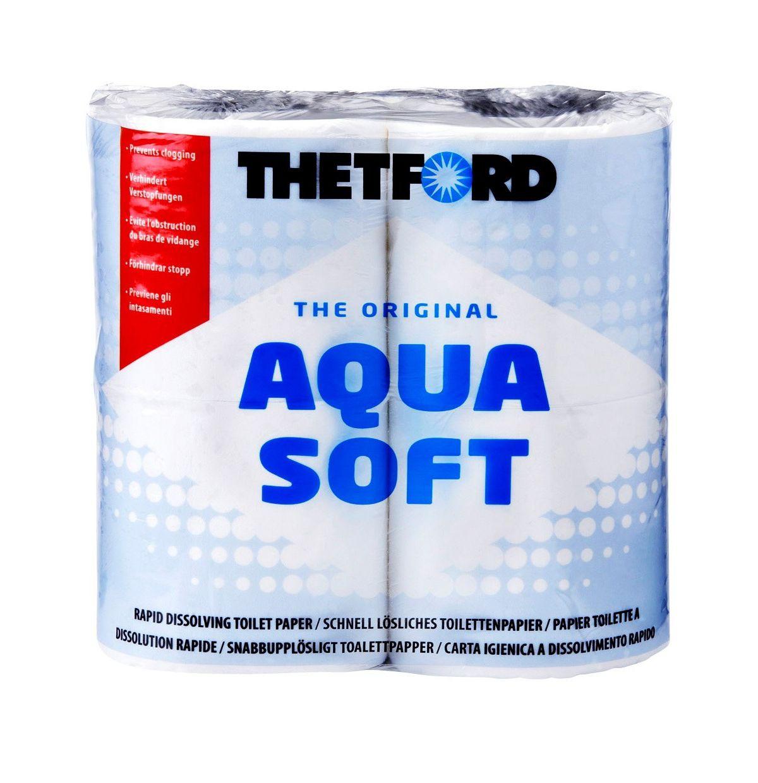 THETFORD Klopapier »Aqua Soft«, weiß, 4 Rollen