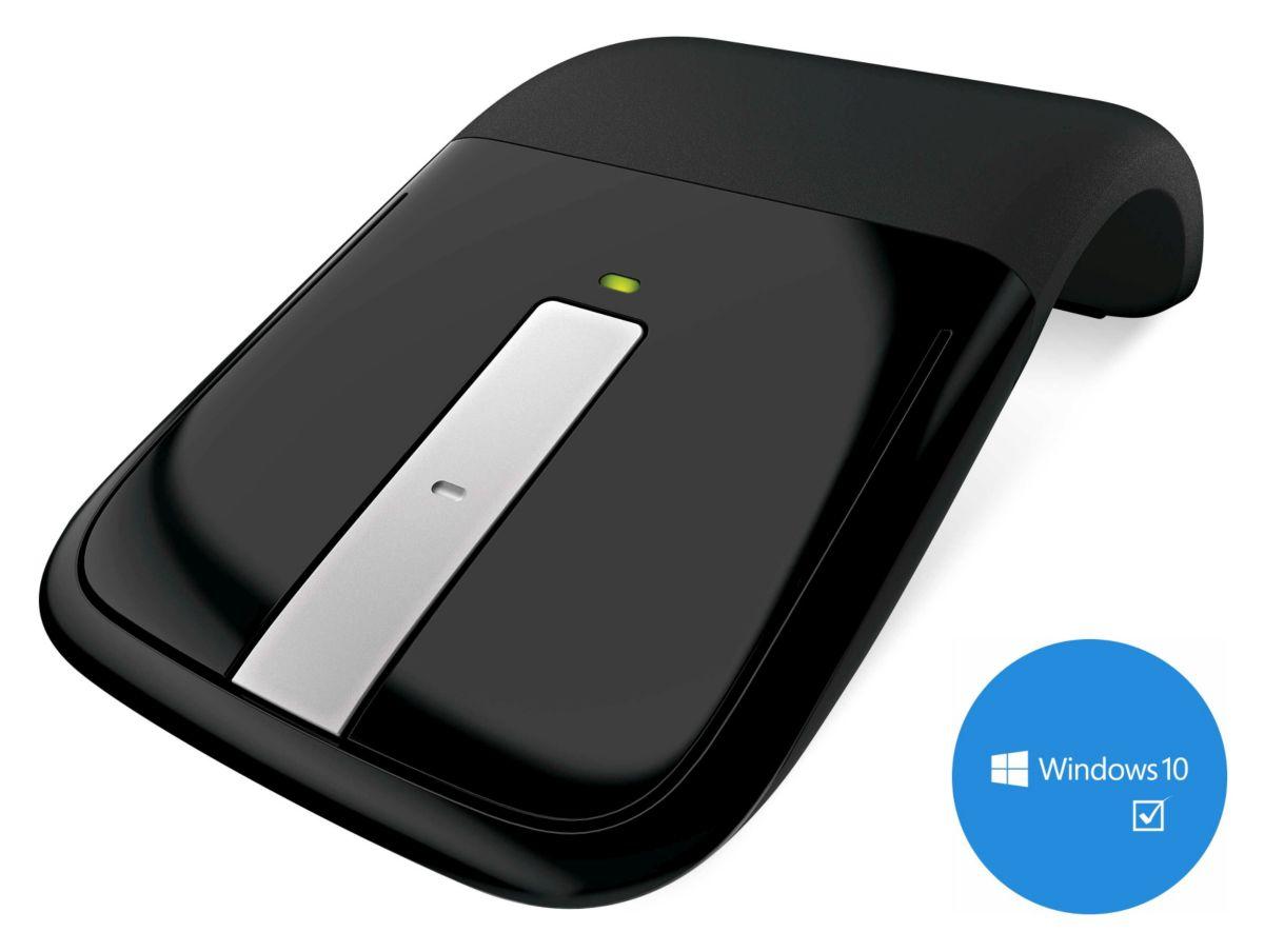 Microsoft Desktop Maus  ARC Touch Mouse USB black  Preisvergleich