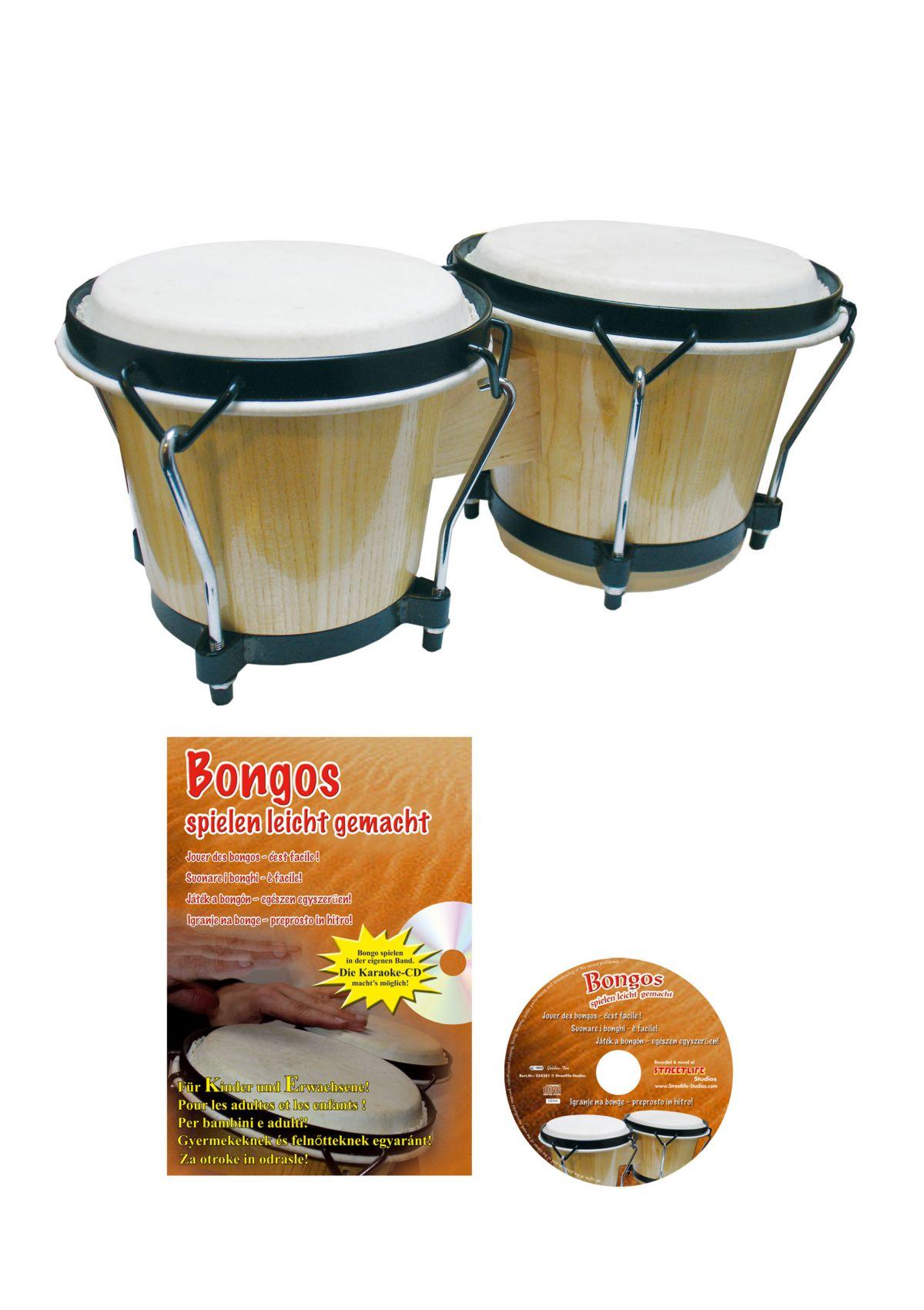 Vorschaubild von Set: Bongo + Zubehör, »Clifton - Bongo Set«