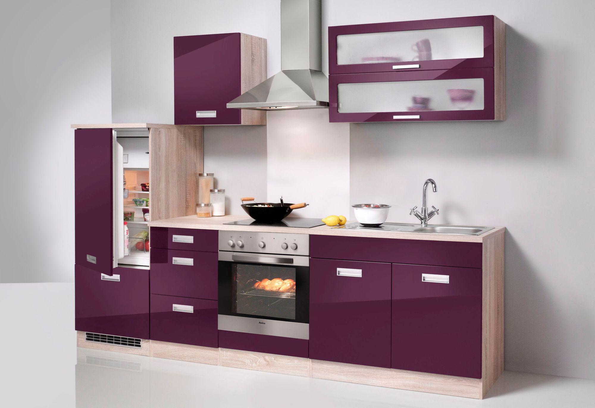 held m bel k chenzeile fulda ohne e ger te breite 270. Black Bedroom Furniture Sets. Home Design Ideas