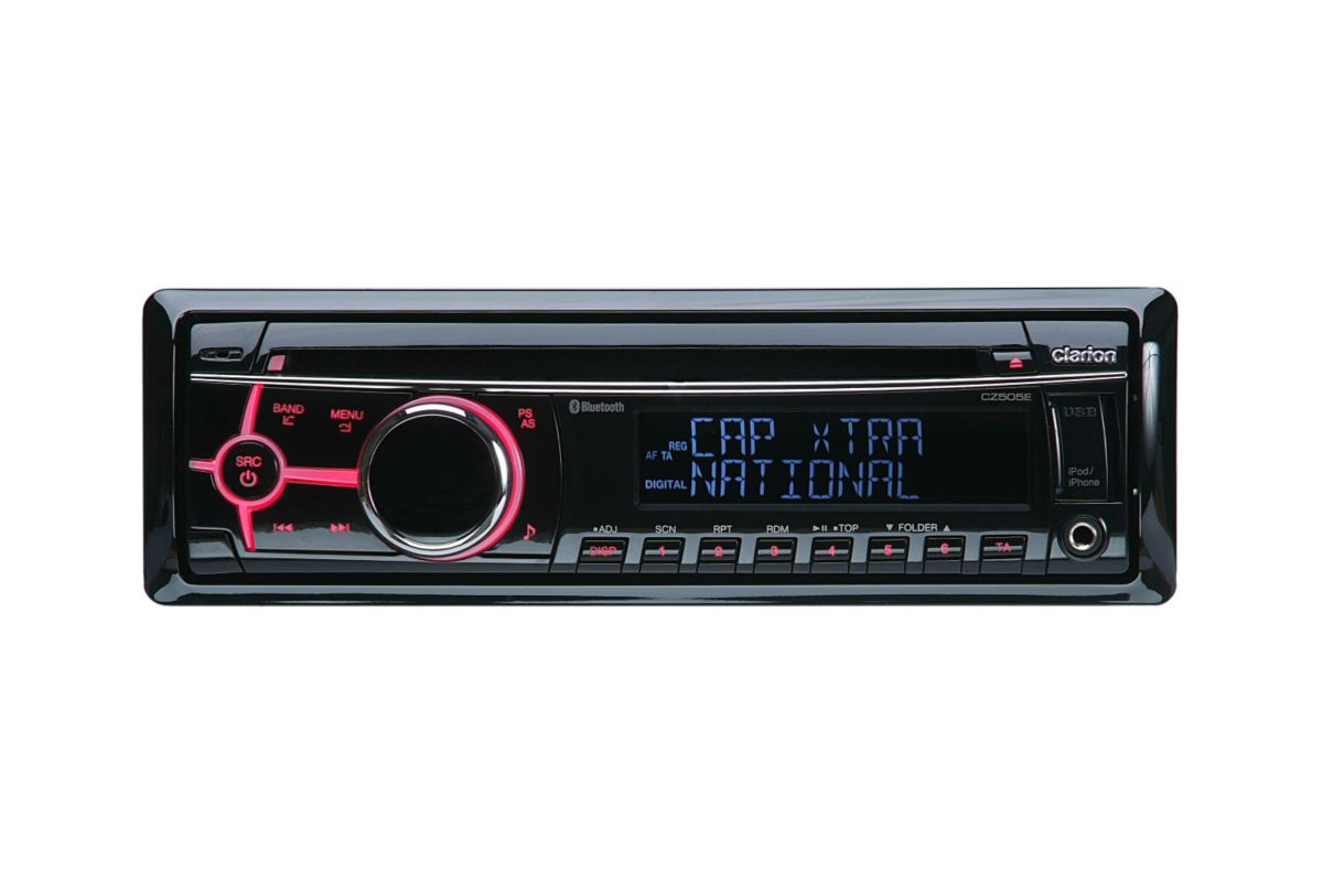 Clarion 1-DIN Autoradio mit DAB+  CZ505E  Preisvergleich