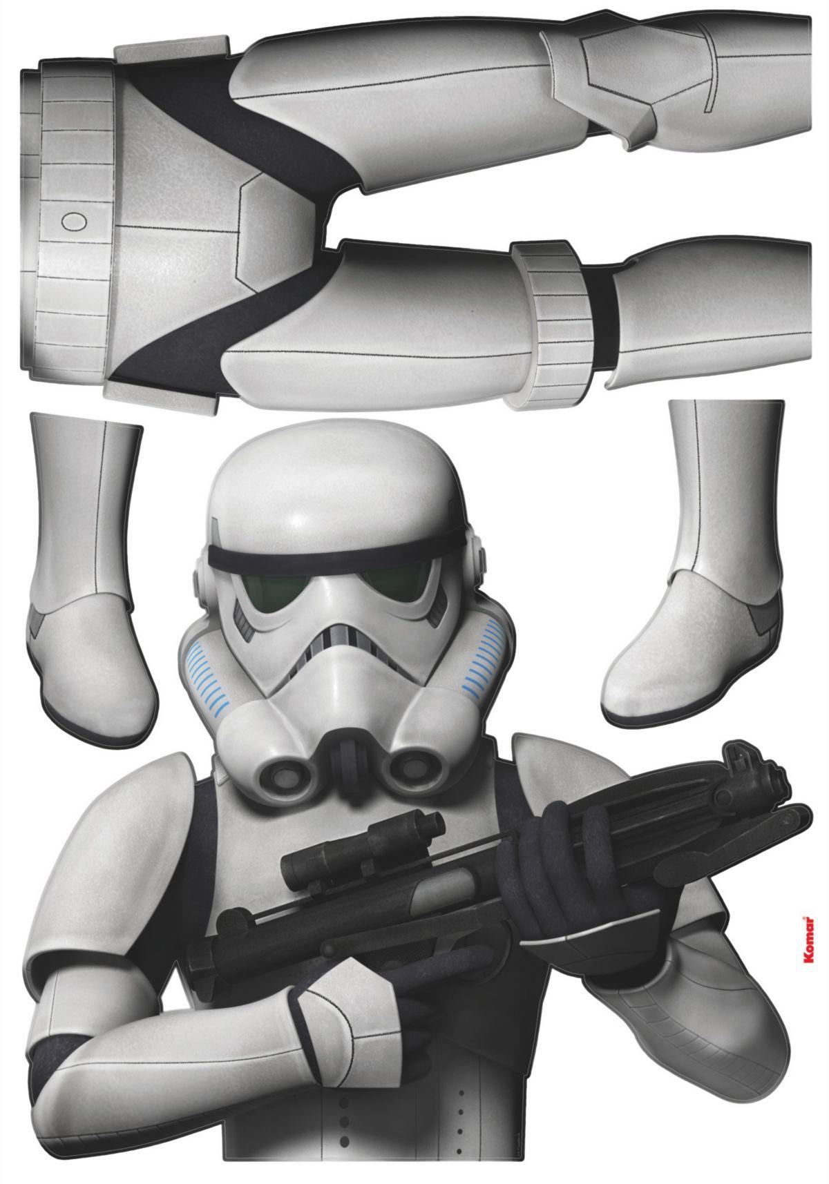 Wandsticker, Komar, »Star Wars Stormtrooper«, 70/160 cm