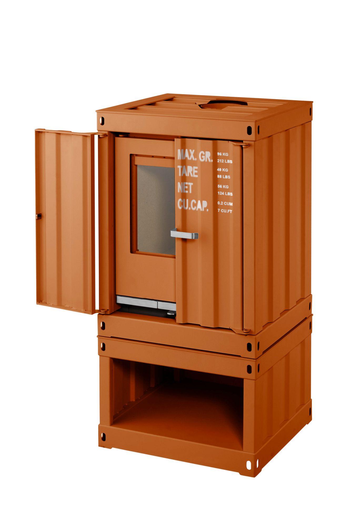 kaminofen rotterdam stahl orange 5 kw ext luftzufuhr. Black Bedroom Furniture Sets. Home Design Ideas