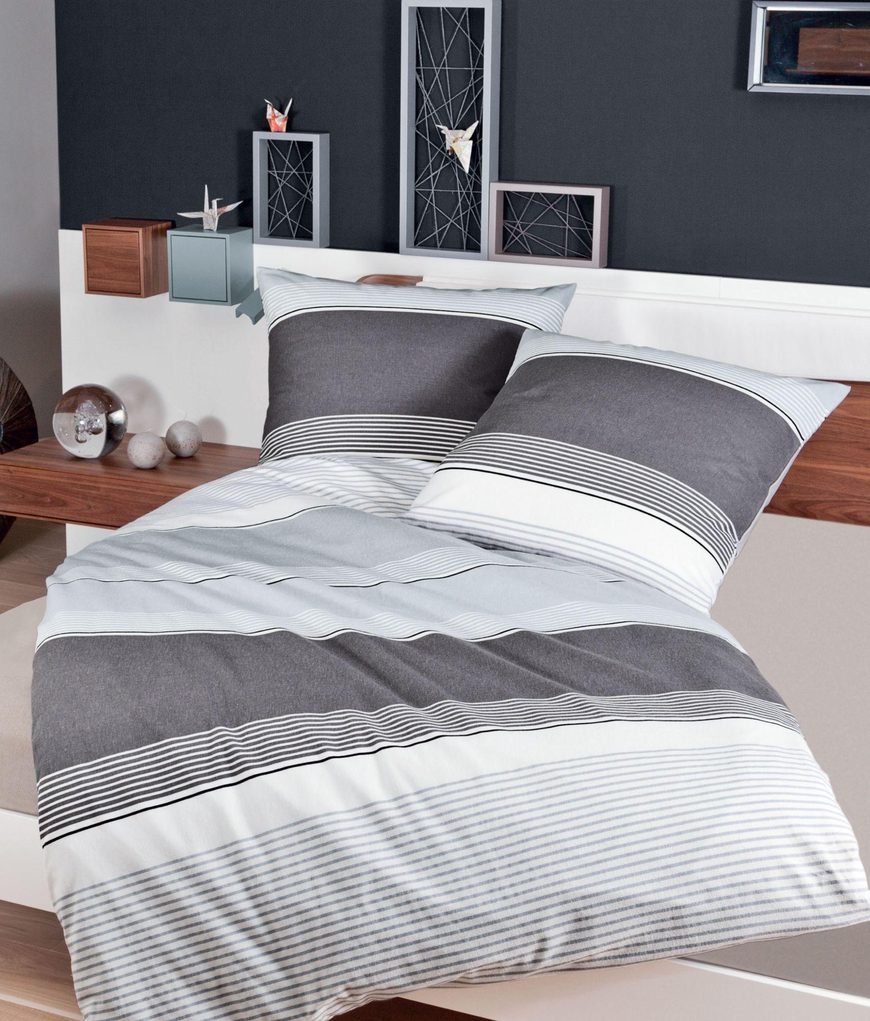 bettw sche janine querstreifen mit feinen streifen. Black Bedroom Furniture Sets. Home Design Ideas