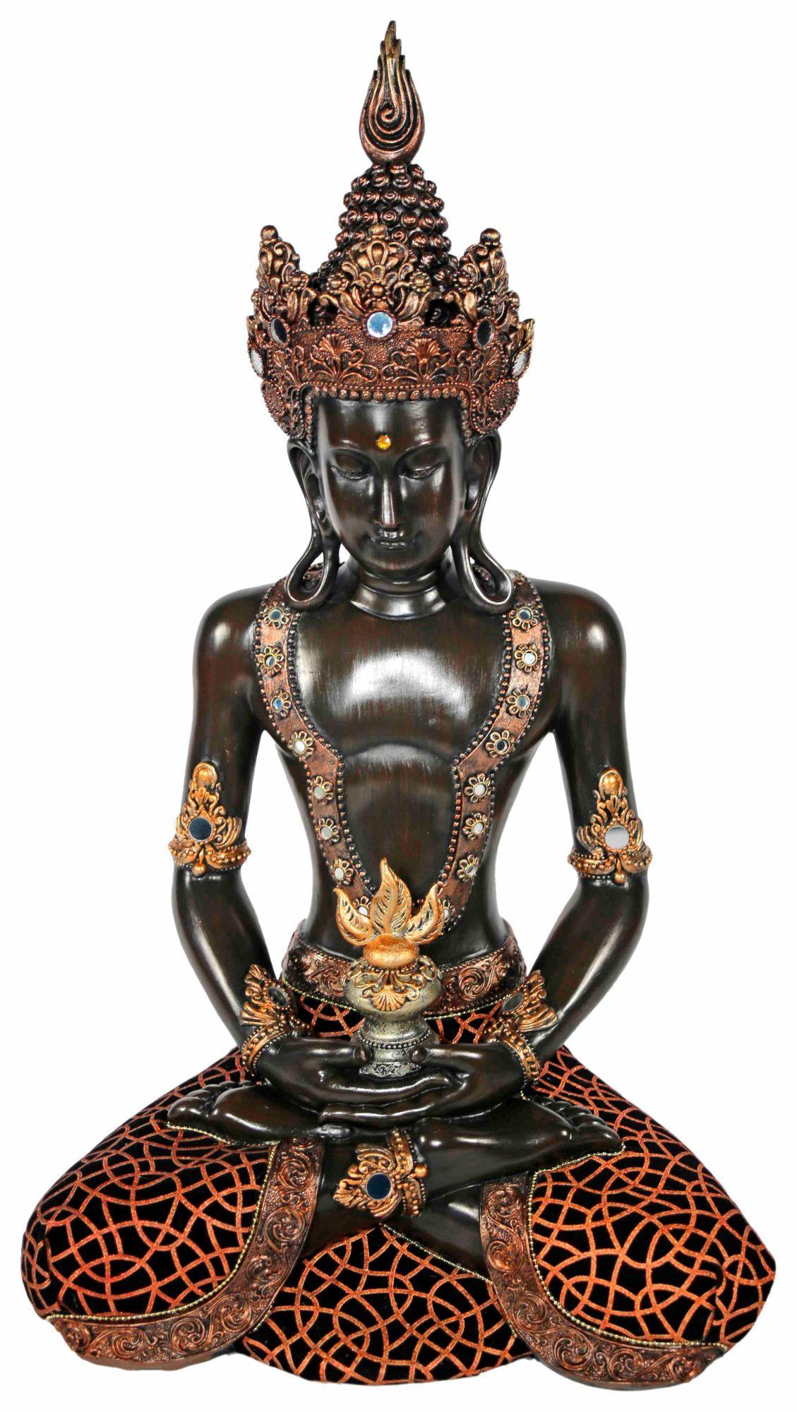 home affaire dekofigur buddha im lotussitz schwab. Black Bedroom Furniture Sets. Home Design Ideas