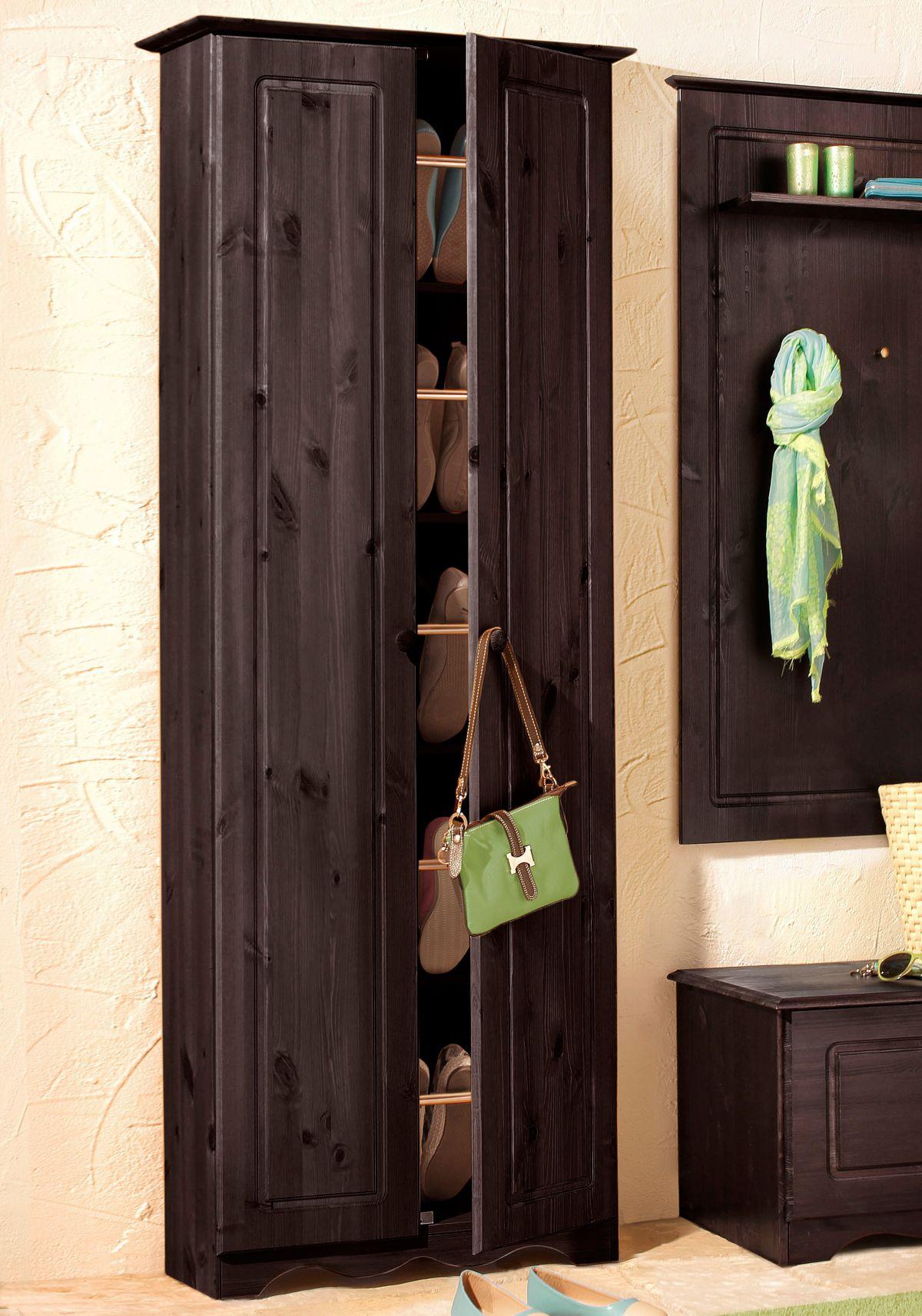 schuhschrank home affaire. Black Bedroom Furniture Sets. Home Design Ideas
