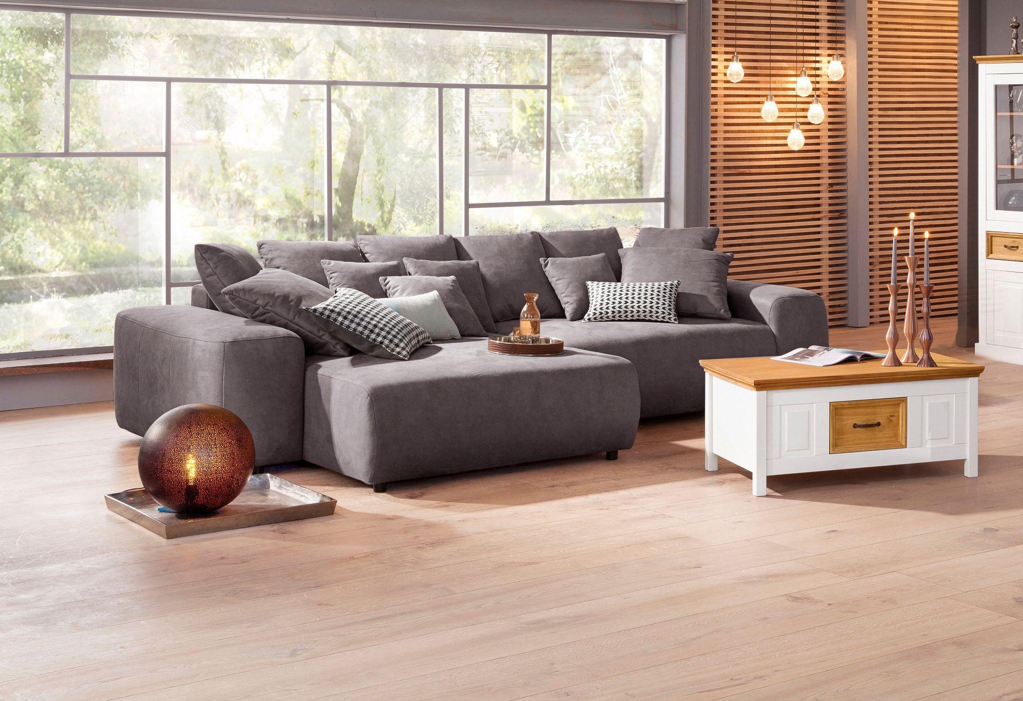 home affaire ecksofa glamour boxspringfederung. Black Bedroom Furniture Sets. Home Design Ideas
