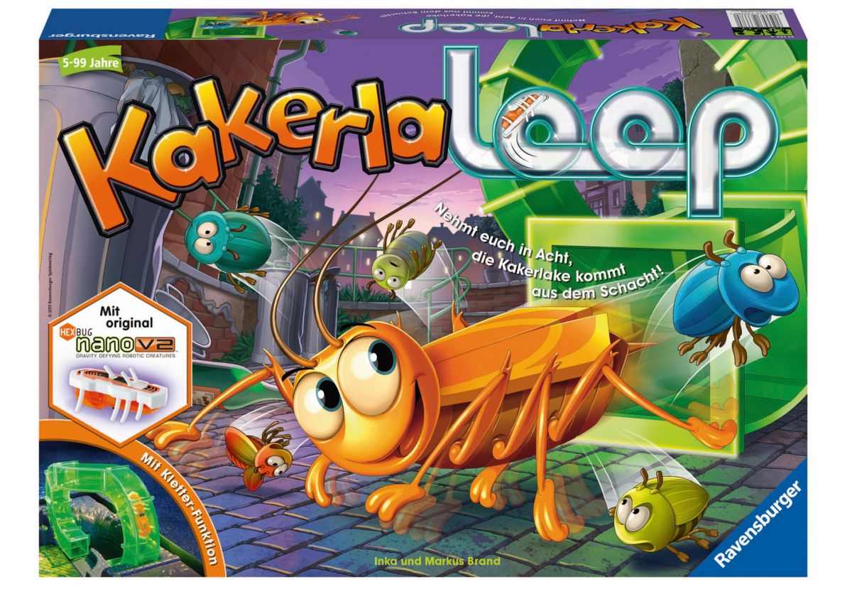 Ravensburger Gesellschaftsspiel, »Kakerlaloop«
