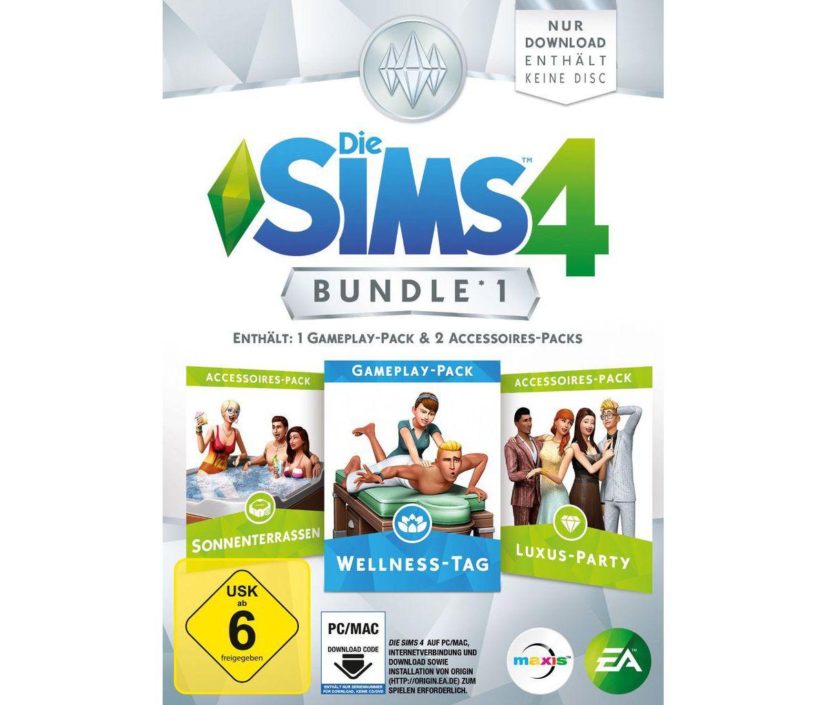 Electronic Arts PC - Spiel »Die Sims 4 Bundle P...