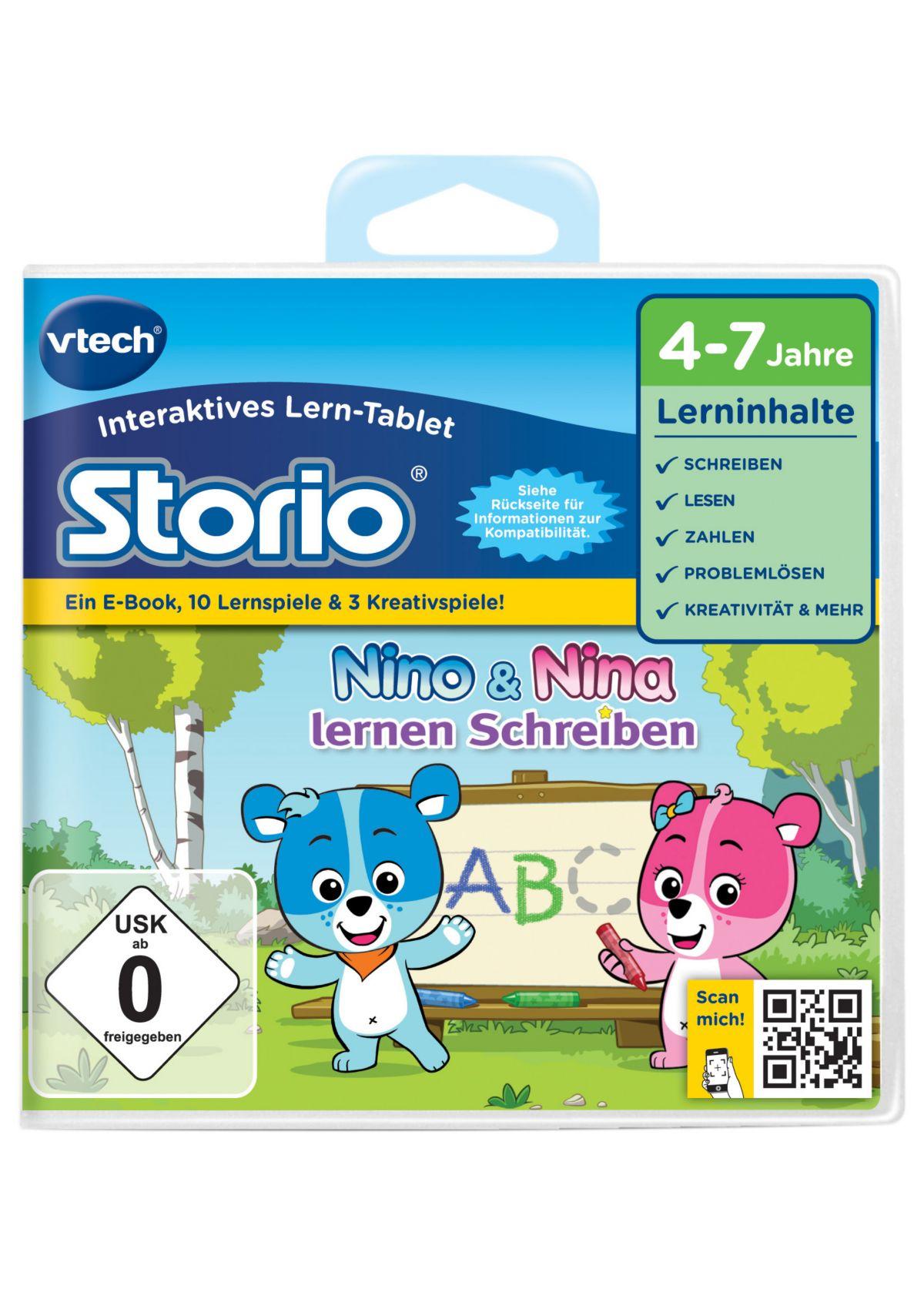 VTech Storio Lernspiel, »Nino & Nina lernen Sch...
