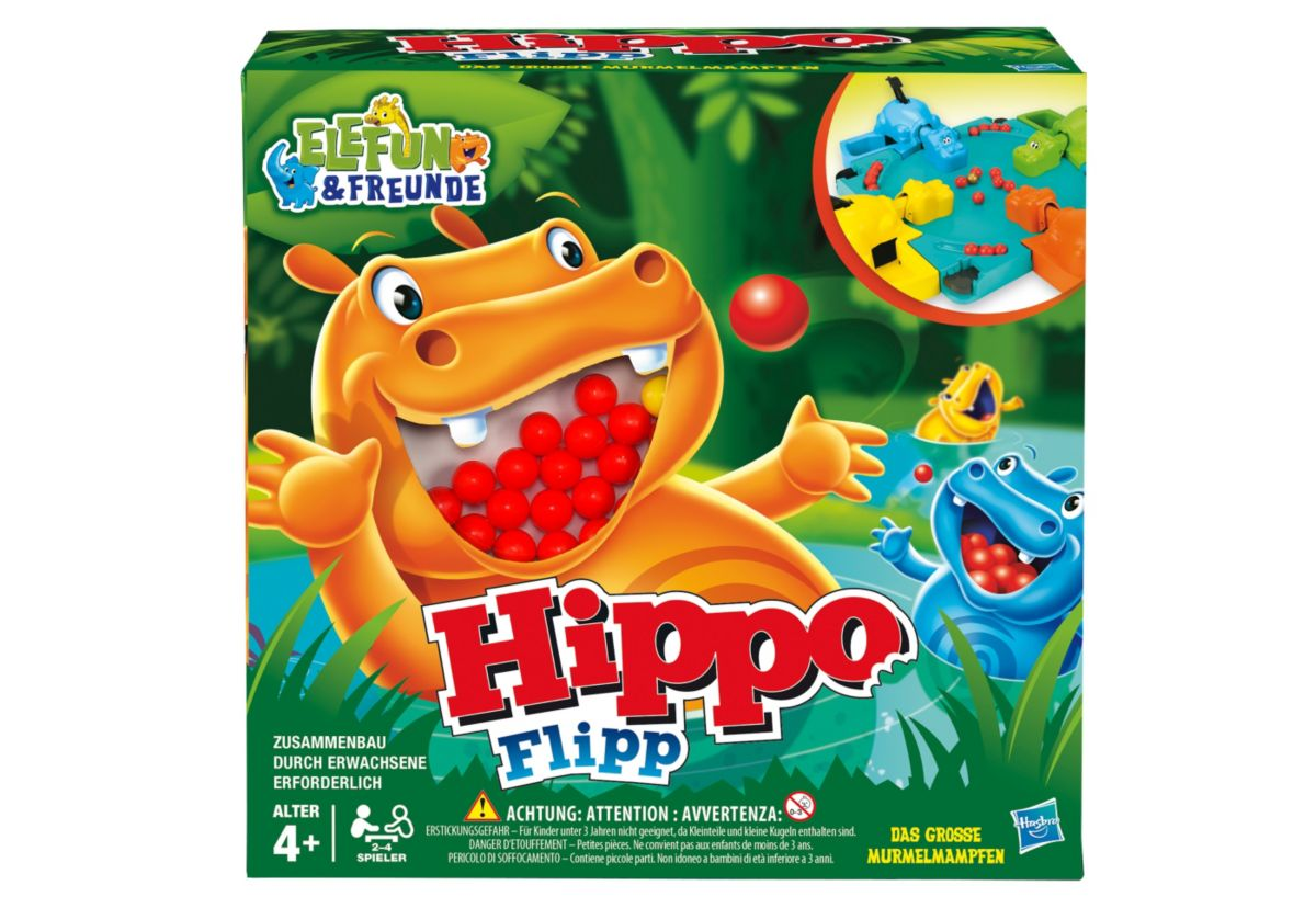 Hasbro Actionspiel, »Hippo Flipp«